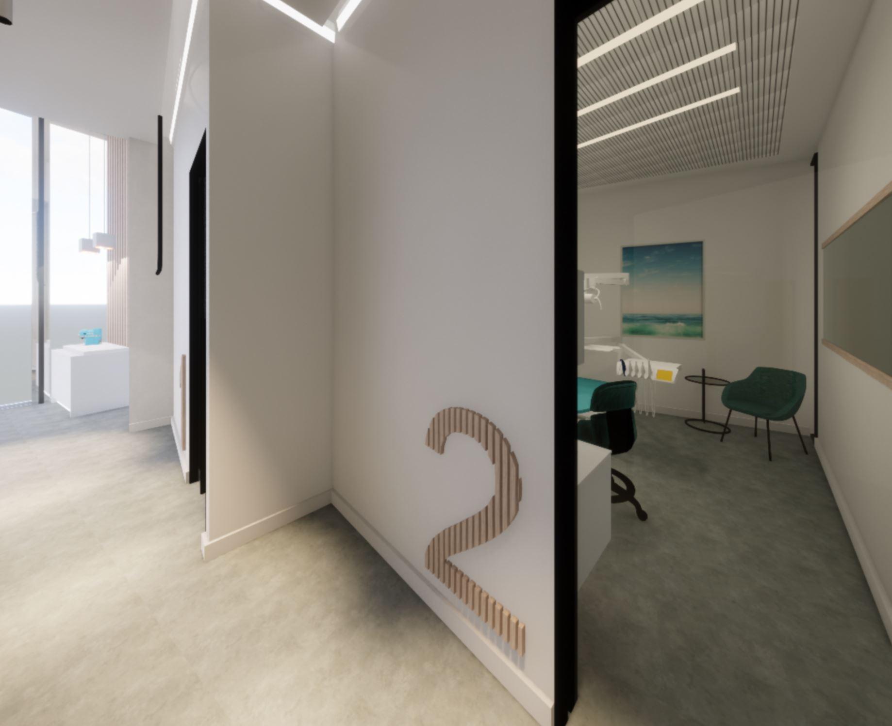 modern dental office design concept in san francisco