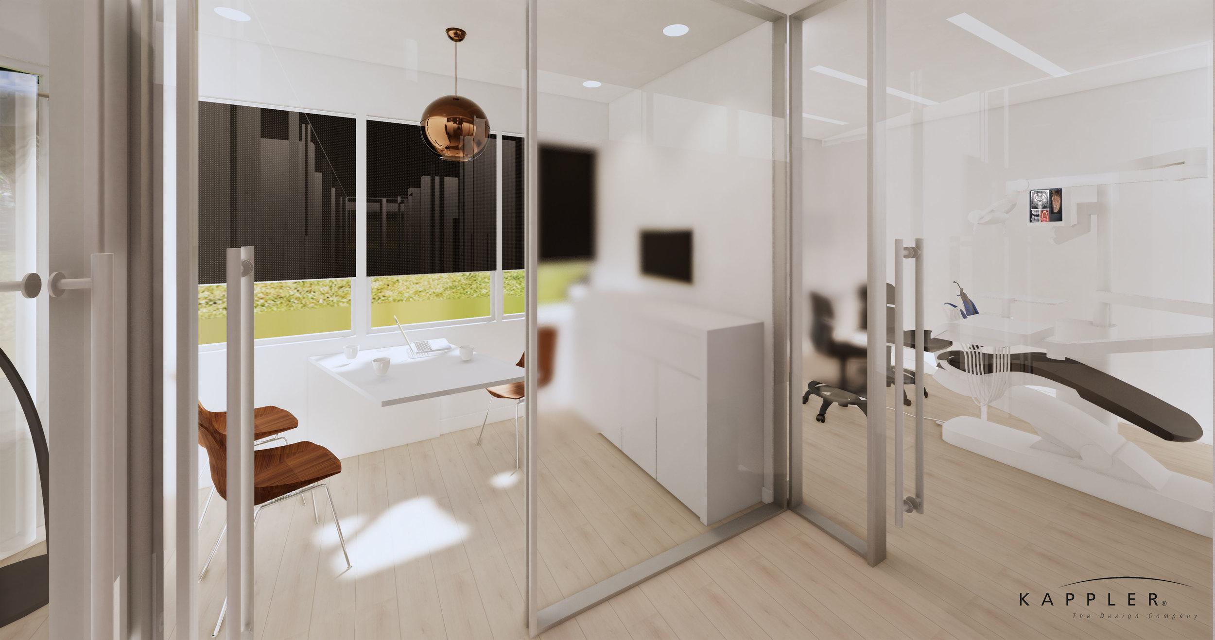 modern nordic dental consultation office design