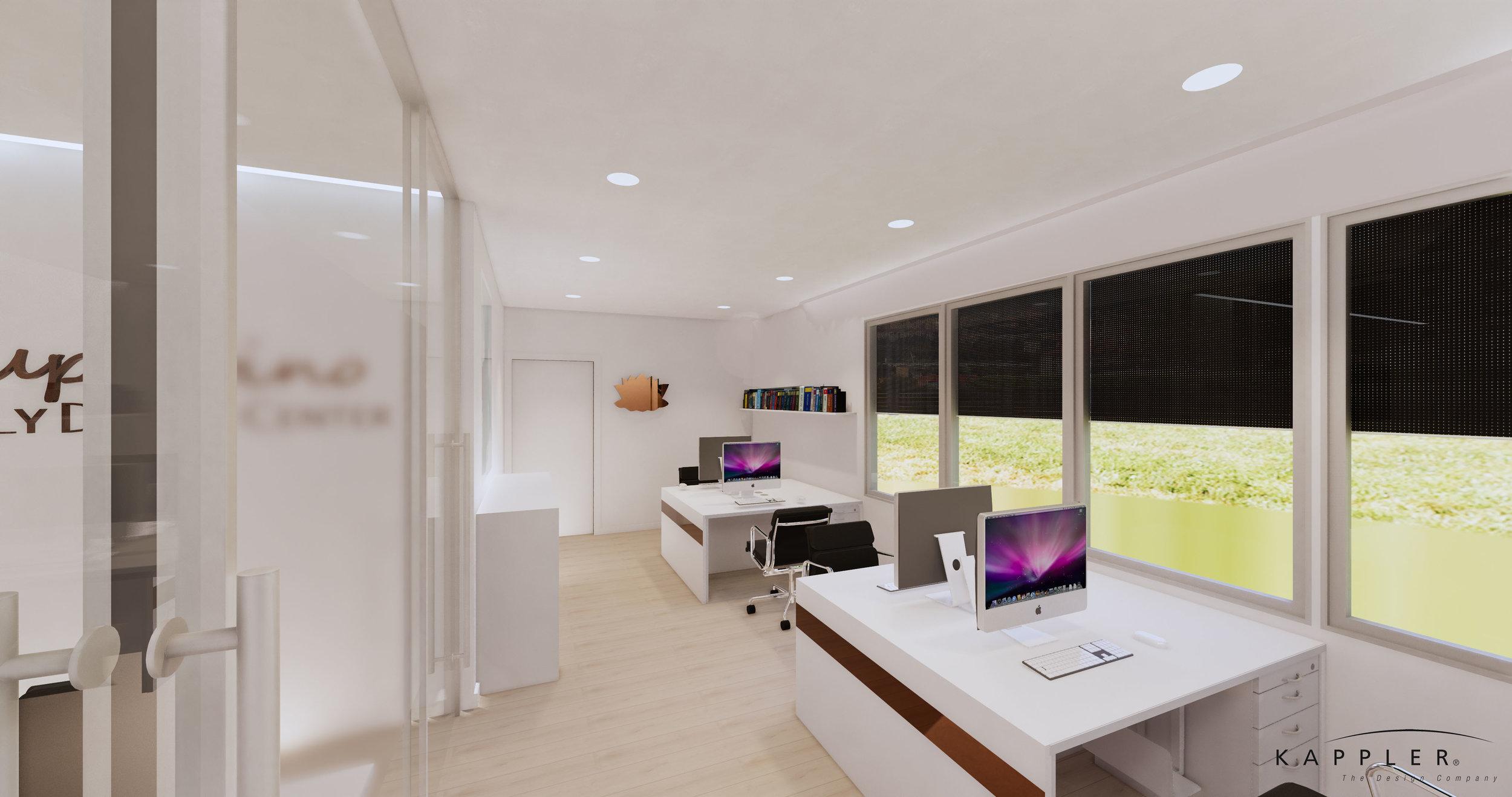Nordic design dental office space in california
