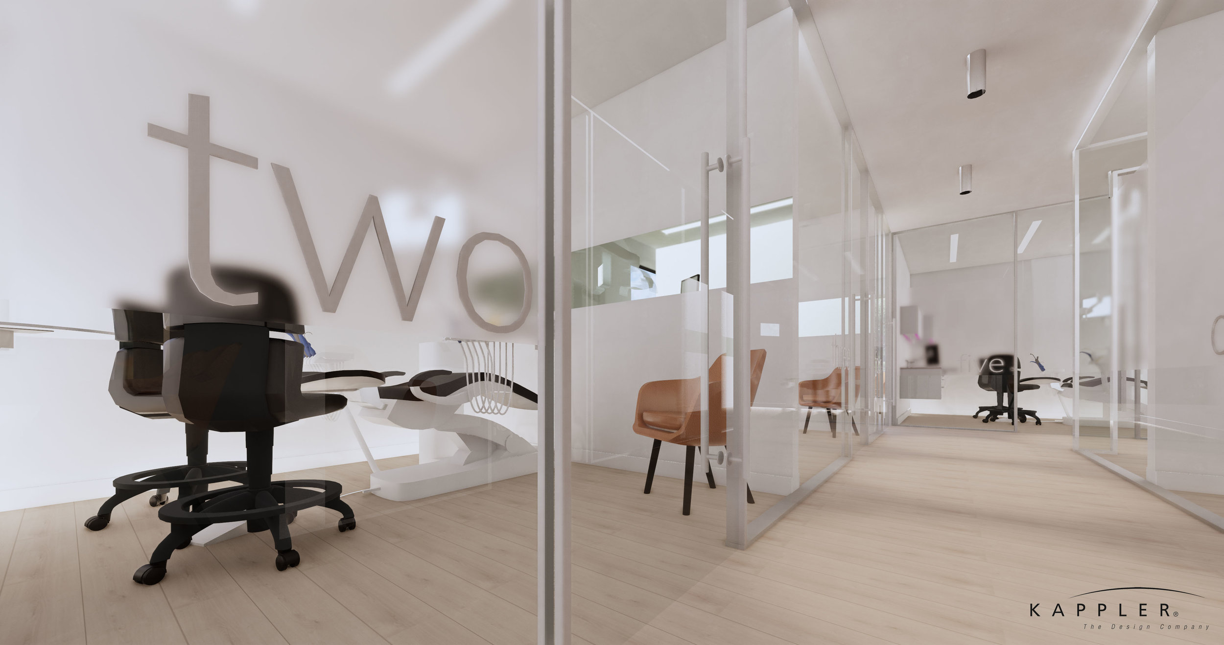 modern nordic design dental office in california