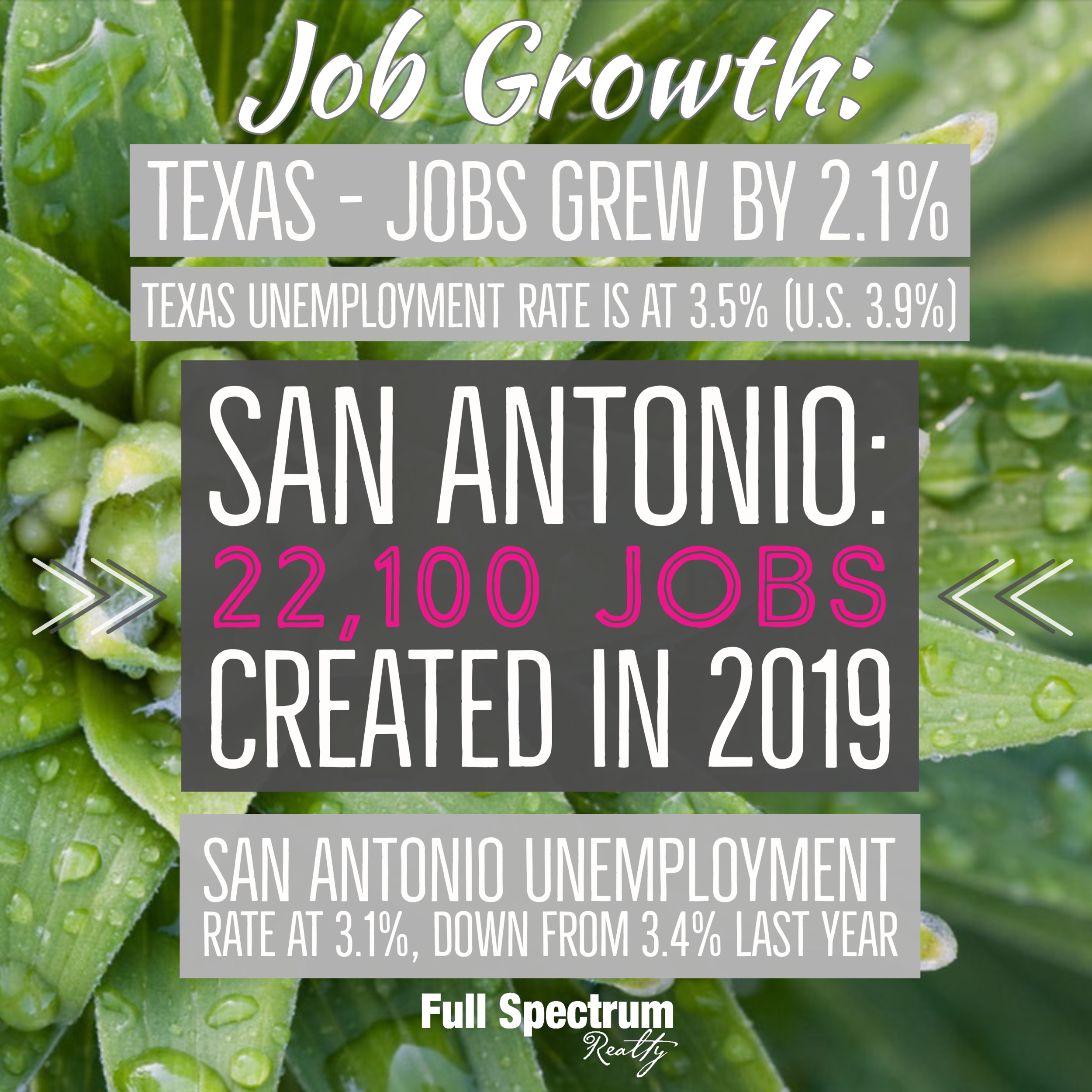 San Antonio Job Growth