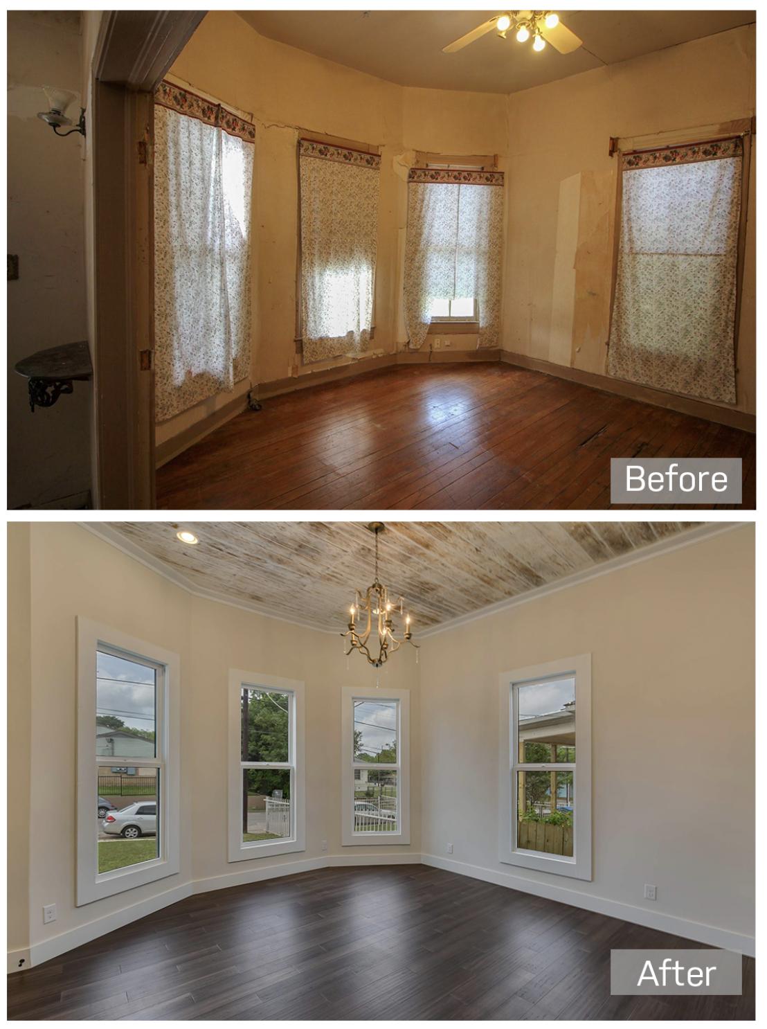 dining room renovation
