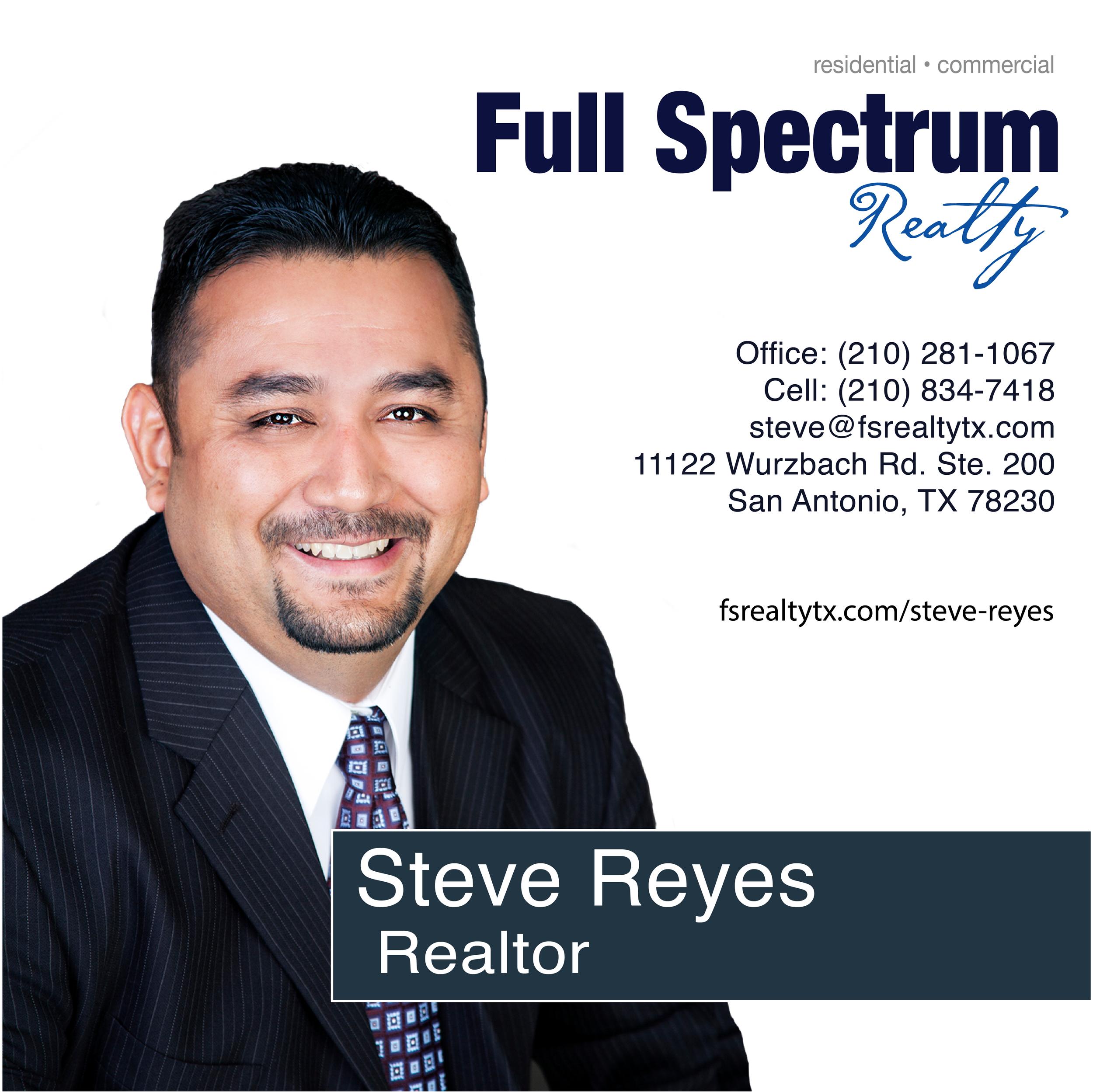 Steve Reyes Realtor
