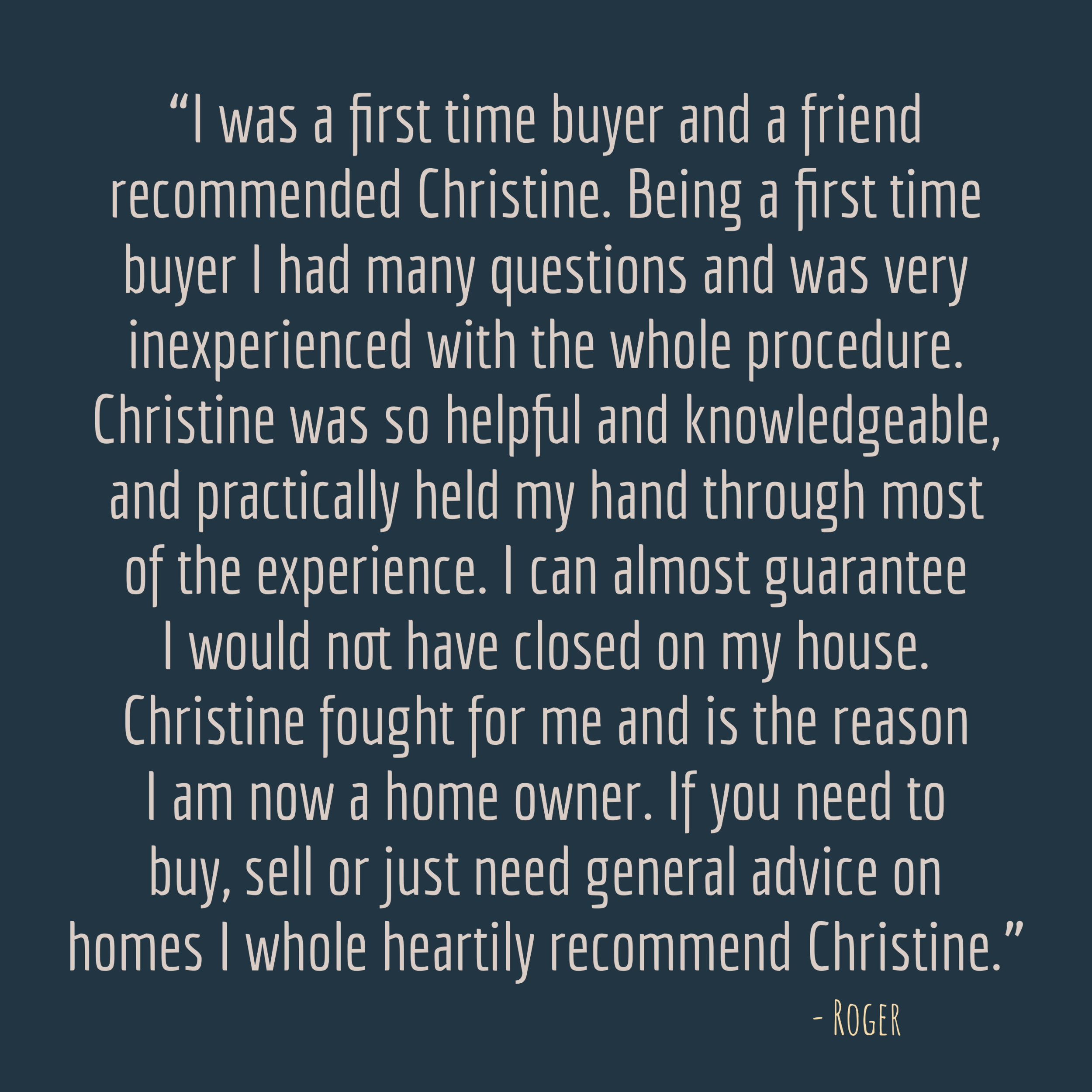 Christine Mayes Review