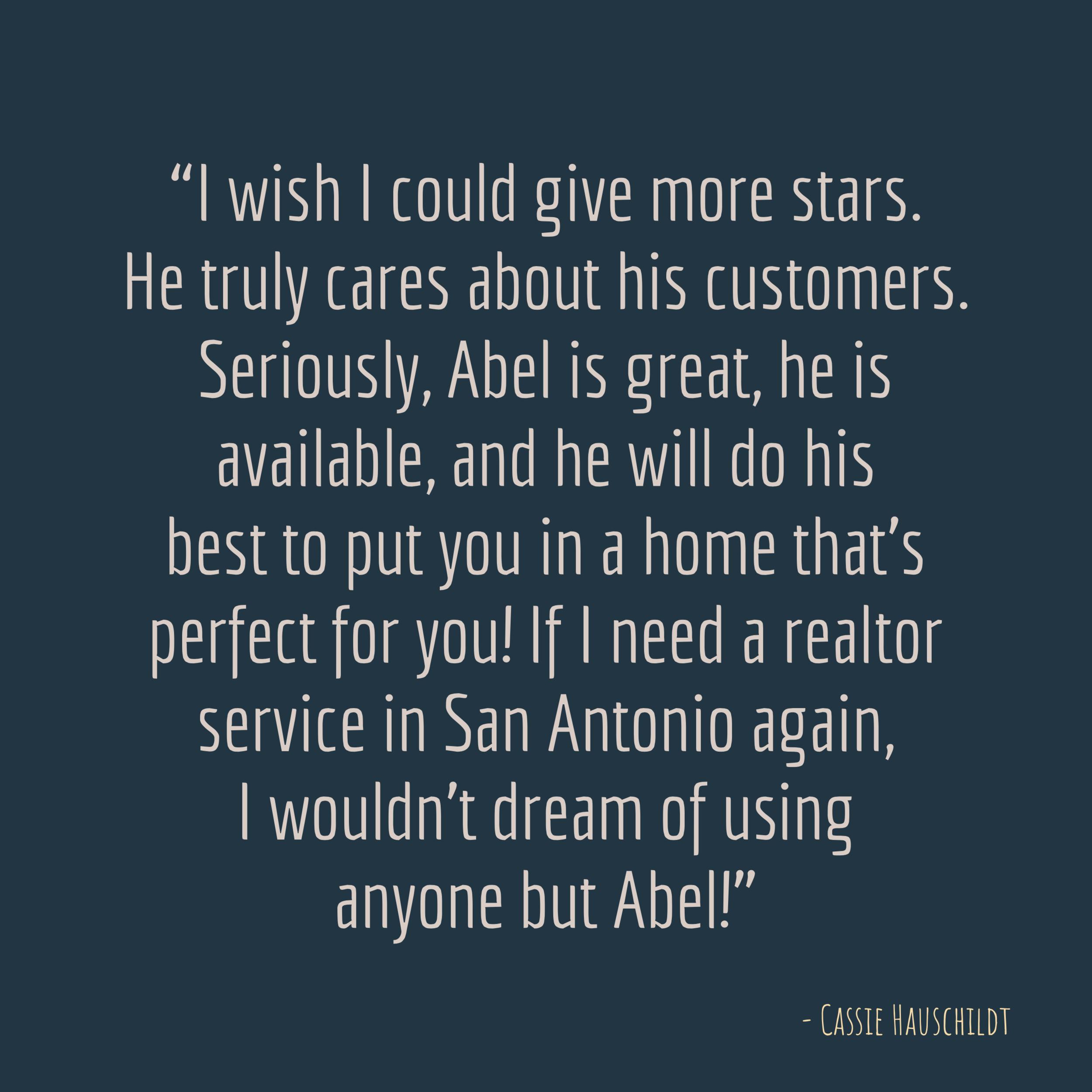 Abel Contreras Review