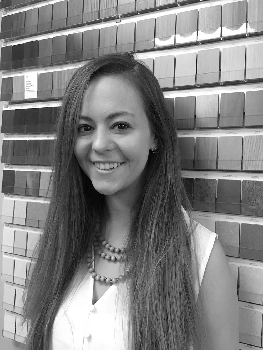 Amy Harmon - Amy comes to us from the Hospitality Design industry after graduating with her Bachelors of Interior Design from Georgia Southern University. Go Eagles! Her swank style and dedication can be seen in all of her projects.