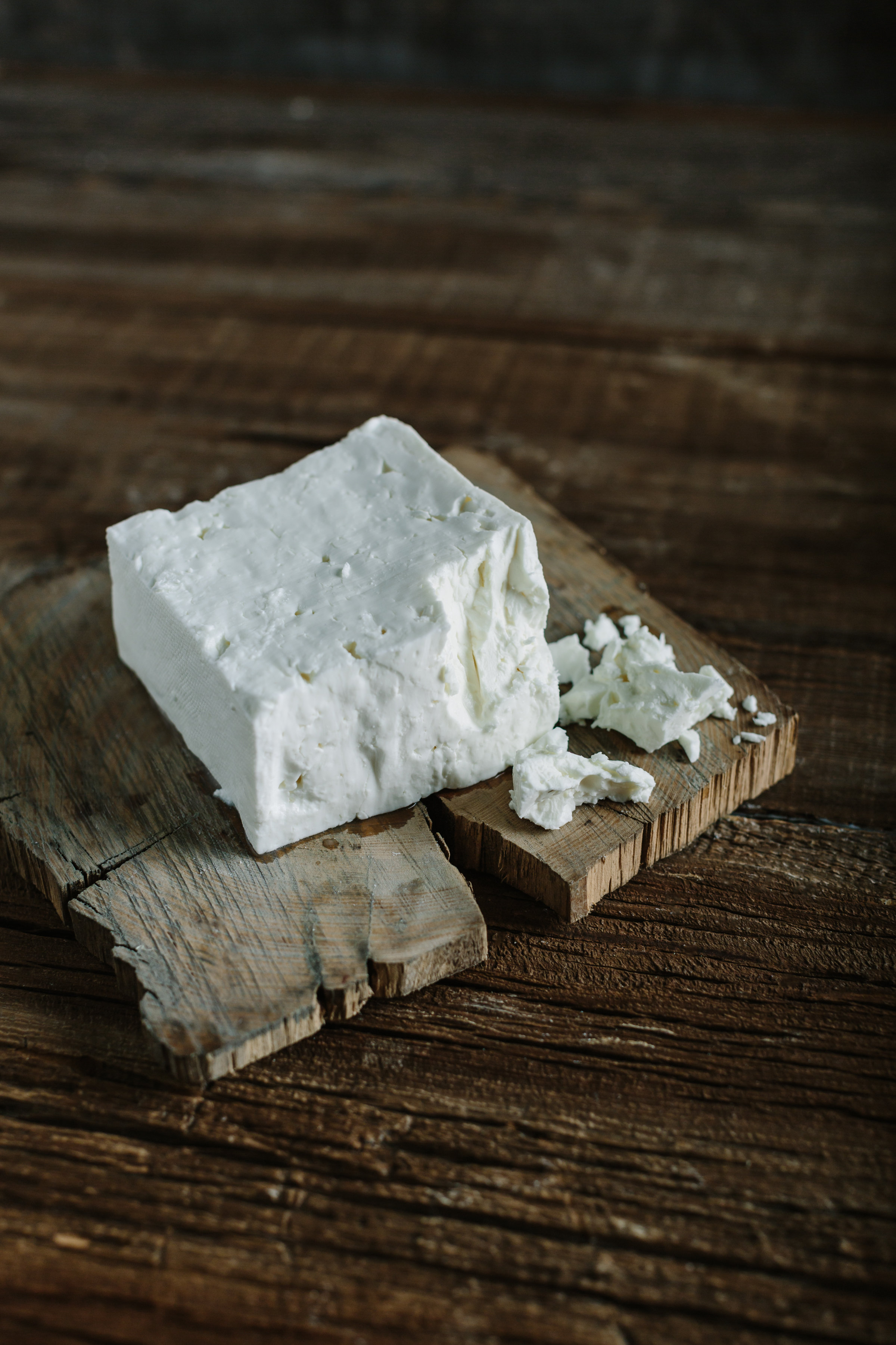 Softer Texture - Feta's texture can be hard, soft and everywhere in between. How it's made and how long it's aged changes its texture and how it's used in the kitchen. In the U.S. we're used to harder, crumblier feta. Essex feta will be much softer by comparison. This is gentle, pillowy feta, more like what the Greeks eat every day.