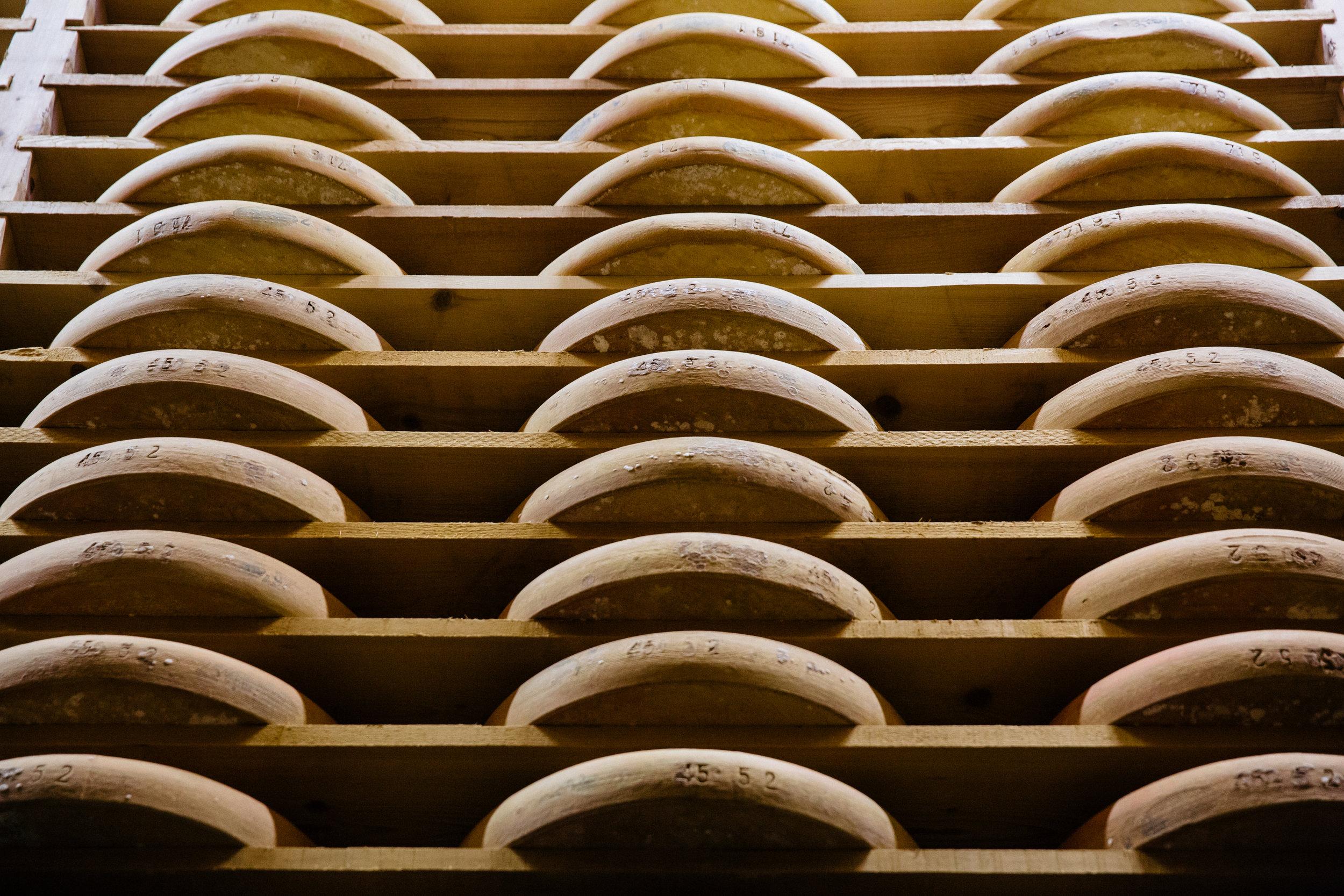 COMTé DETAILS - Chef du Cave Claude QuerrySelection Dominic Coyte and Jason HindsUnpasteurized cow's milkCow breed MontbéliardeSummer milk Comté sold April through JanuaryWinter milk Comté sold February through MarchWheels sold as 75 lbs whole, 18 lbs quarters, 9 lbs eighths
