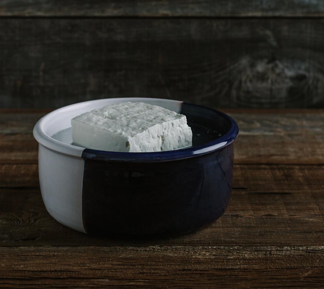 FETA DETAILS - Cheesemaker Pangiotis TastanisDairy M&D Tastanis, est. 1980Fixer Danae TsekouraMade December through JulyPasteurized sheep's milkSheep breed LesbianCheese sold as 9.5 lb tubs, 2 per case