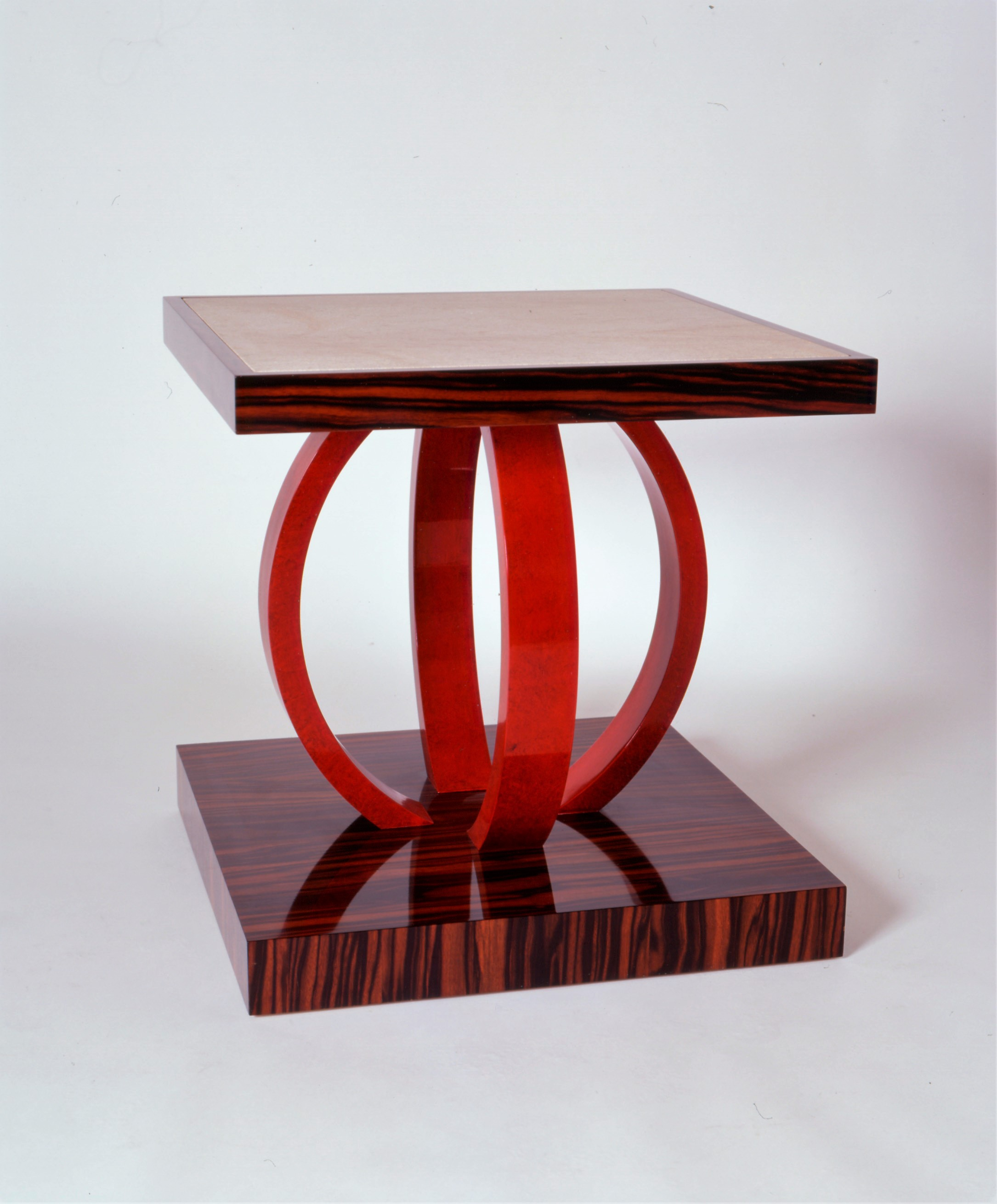 Asian Inspired Macassar Ebony Table