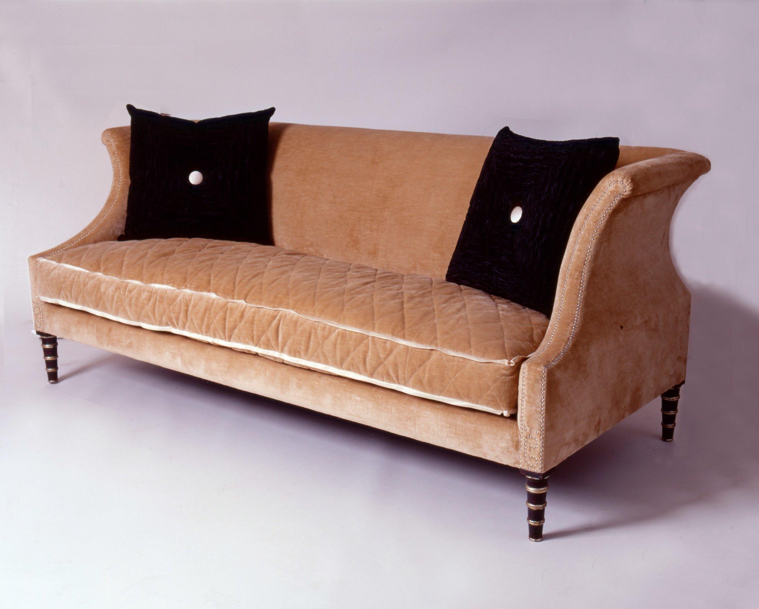 Contrasting Regency Style Sofa