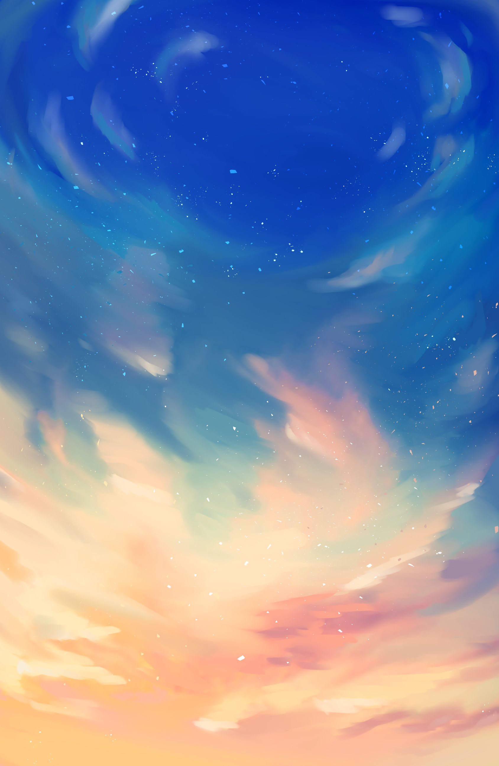 skies . sunset 01