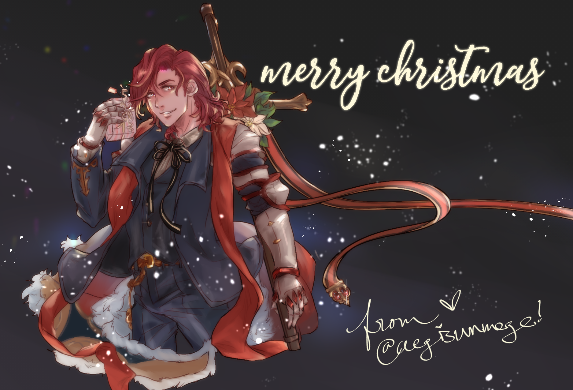 granblue fantasy 2018 secret santa gift exchange