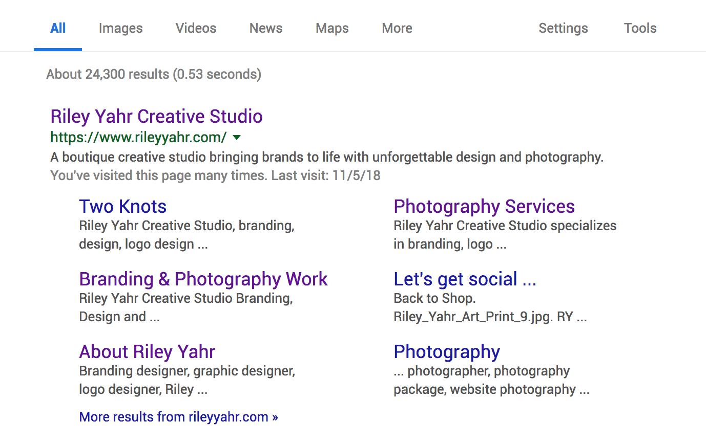 Riley Yahr Creative Studio - Blog - SEO