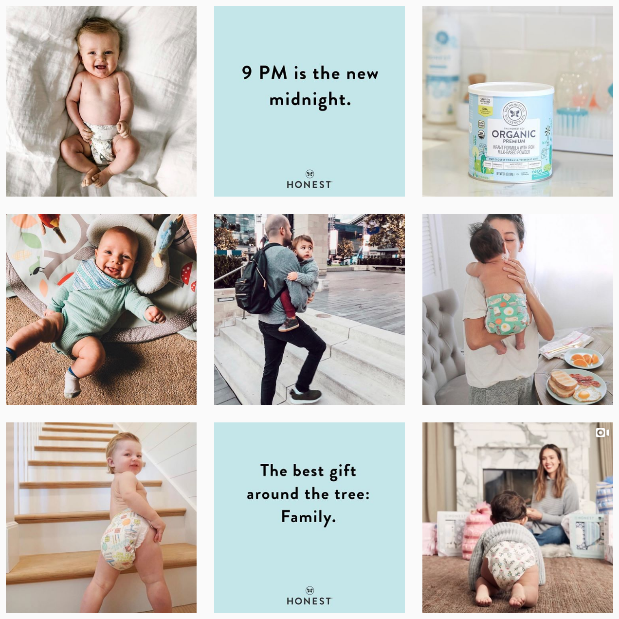 THE HONEST COMPANY  @honest