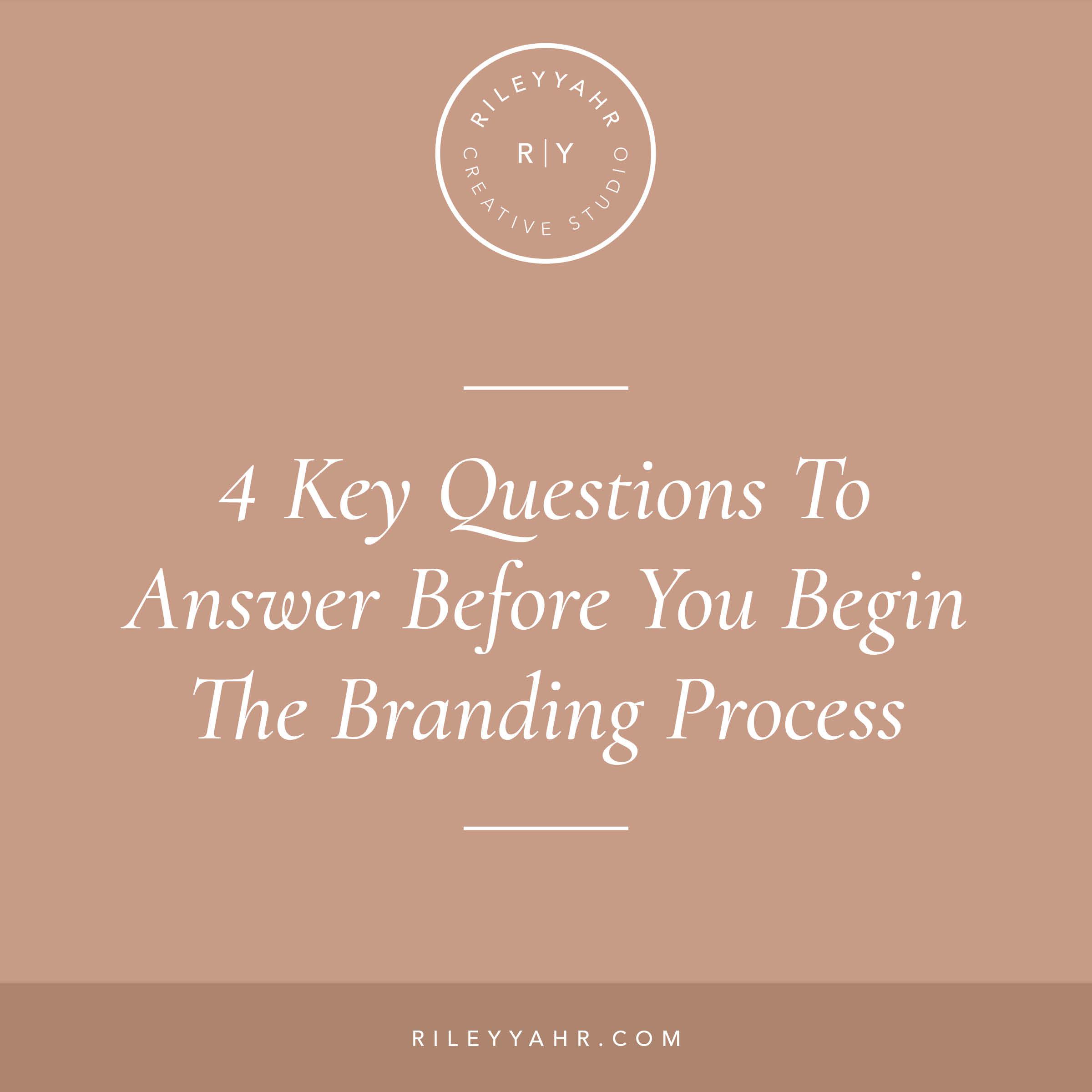 Riley Yahr Creative Studio - Branding Process
