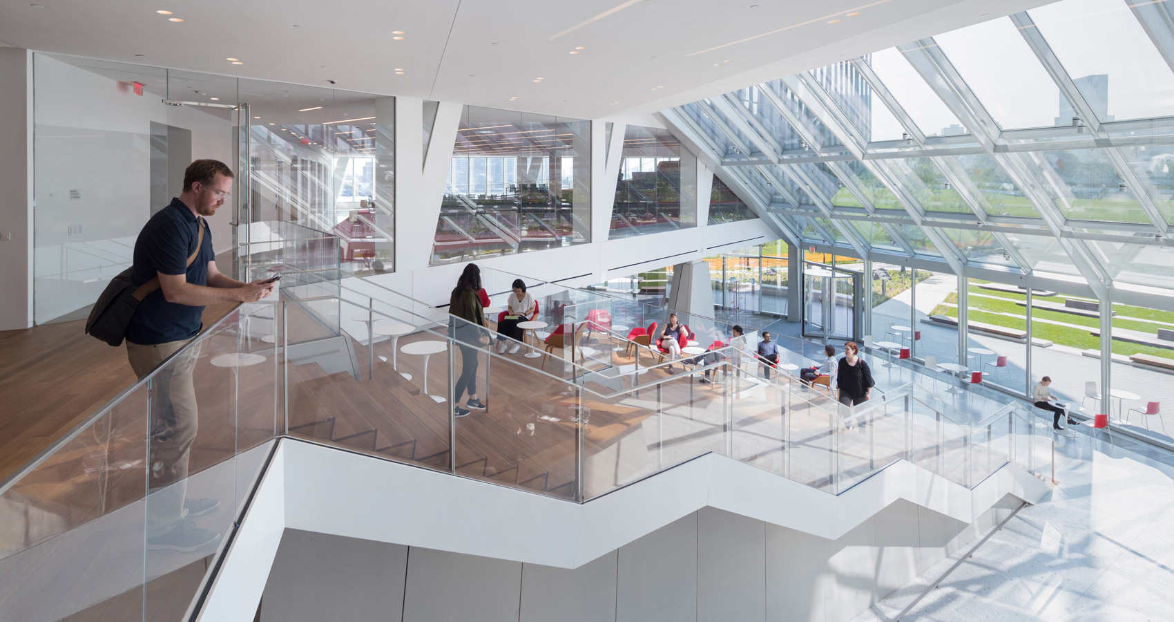 The Bridge @ Cornell Tech // One of the projects Mariela Worked on @ Weiss Manfredi