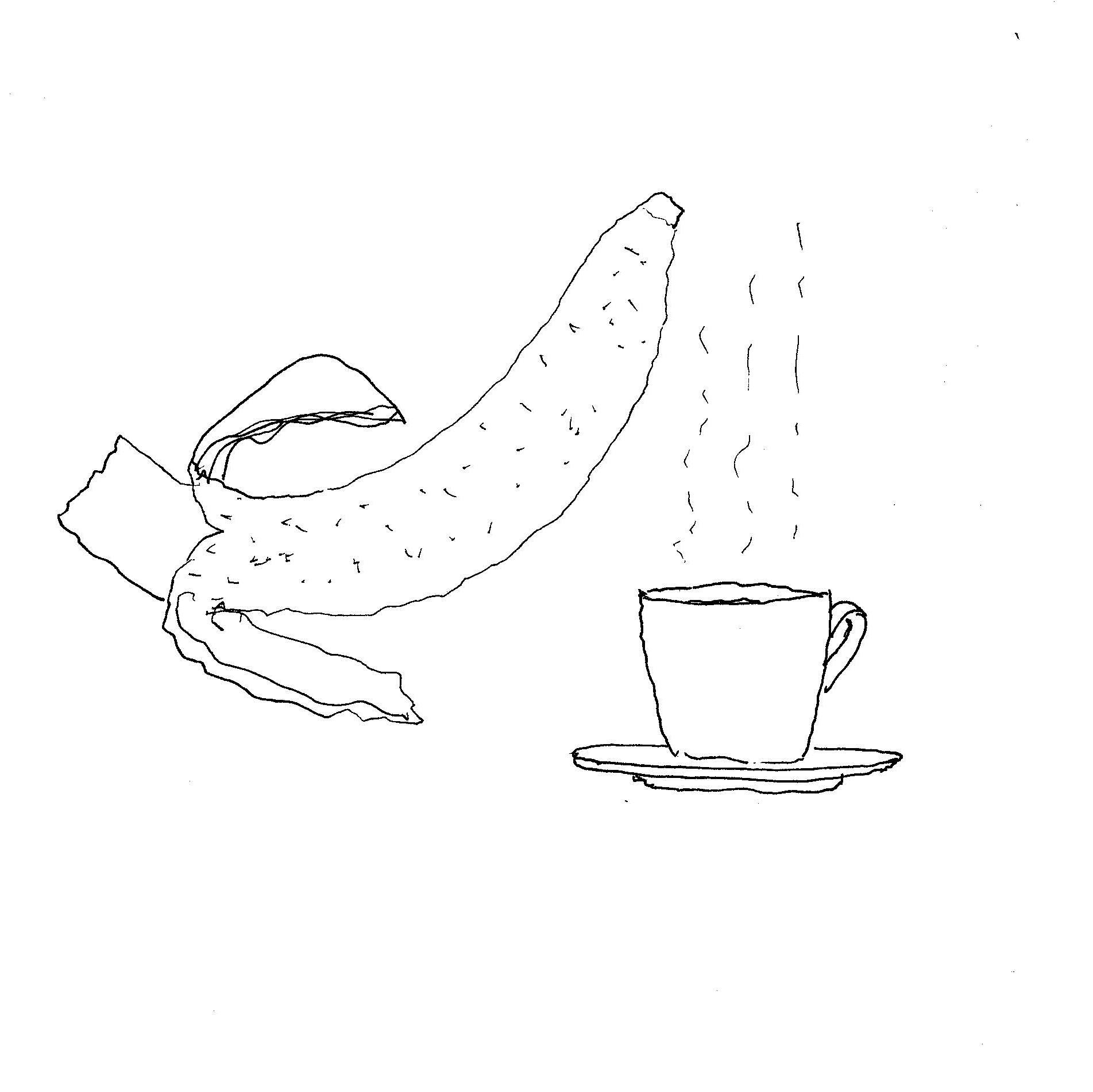 Coffee and Banana