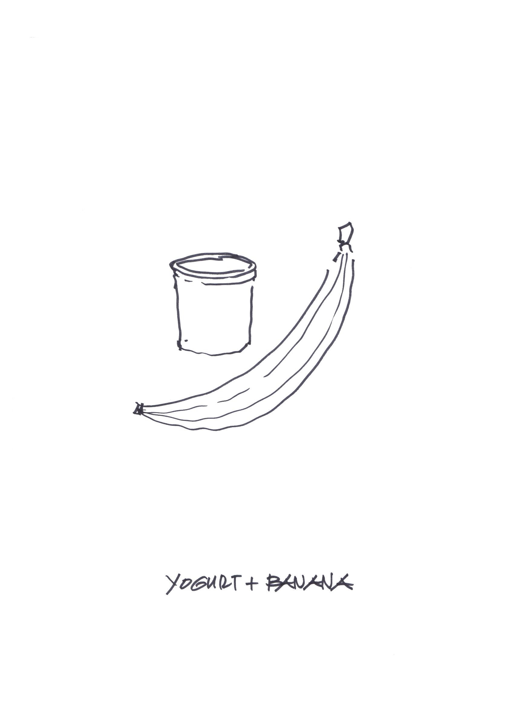 Yogurt and Banana