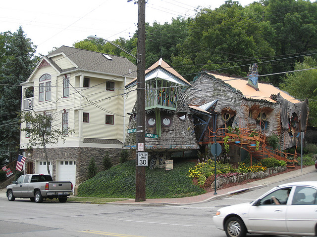 mushroom house - 3518 Tarpis Ave, Cincinnati, OH 45208Terry Brown, completed 2006