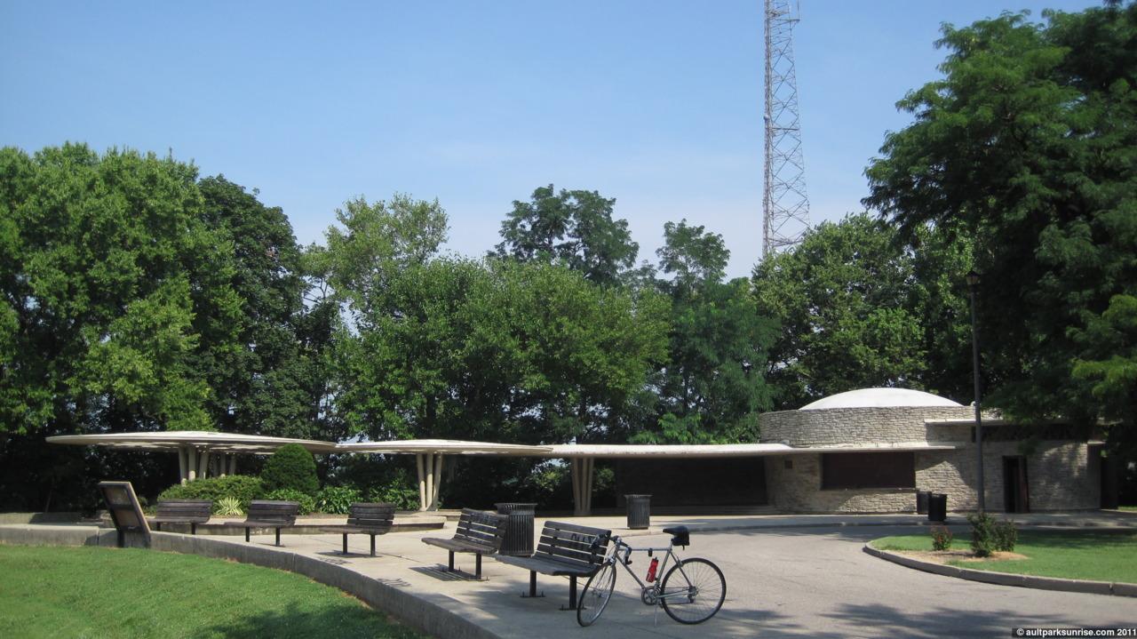 bellevue park pavilion - Park Dr, Cincinnati, OH 45219R. Carl Freund, completed 1955