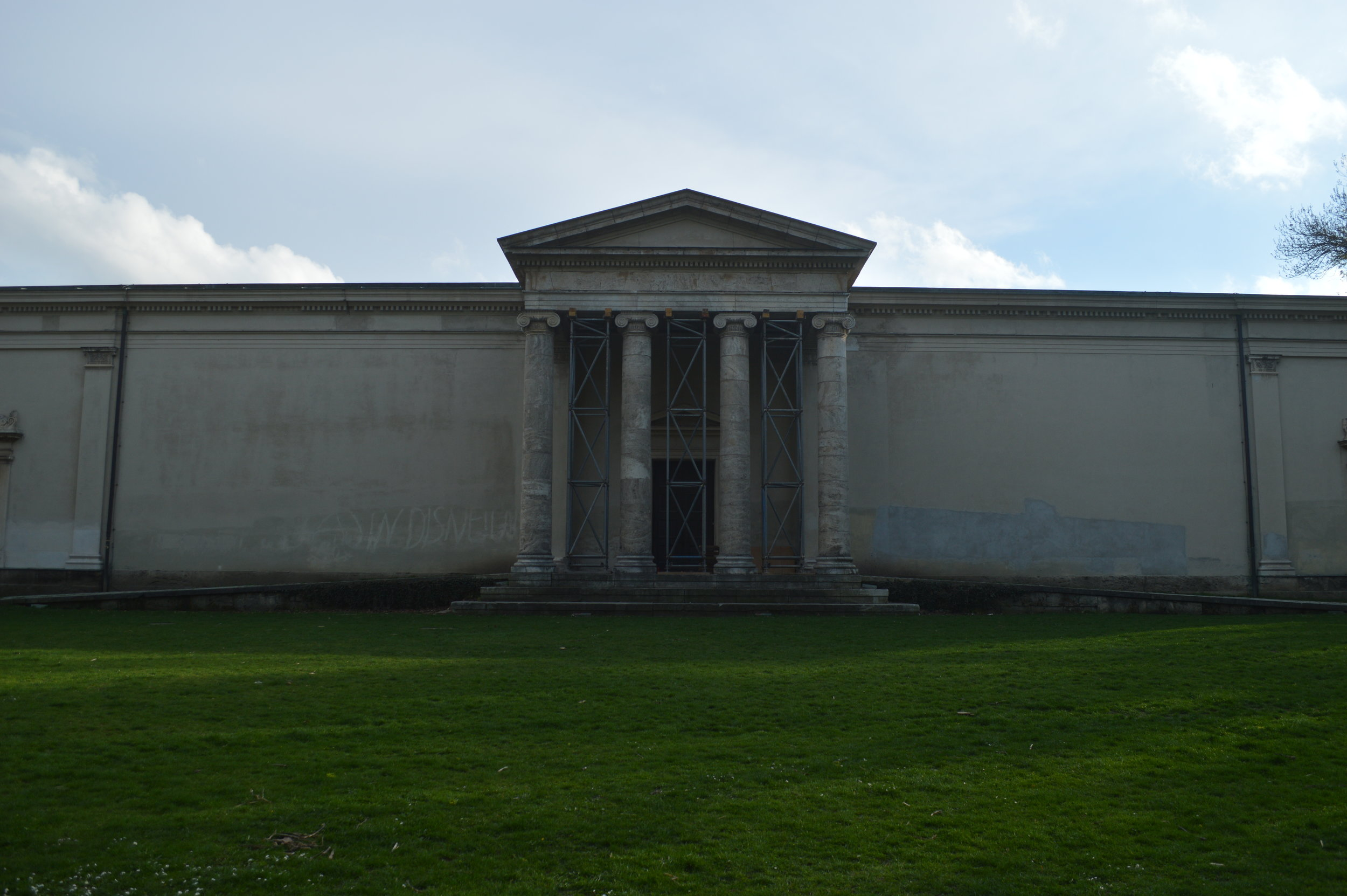 Rear of Glyptothek