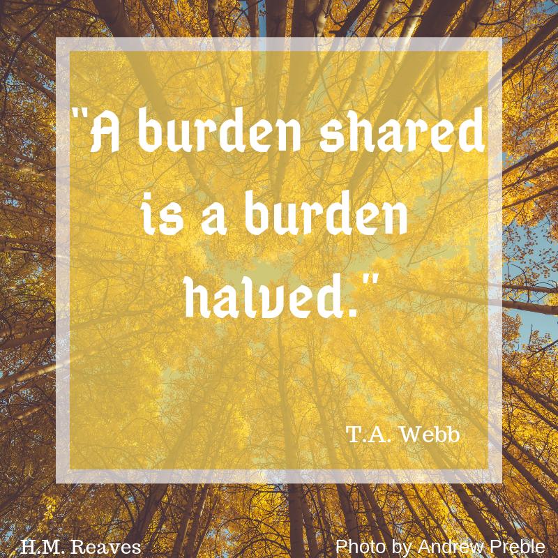 A burden shared