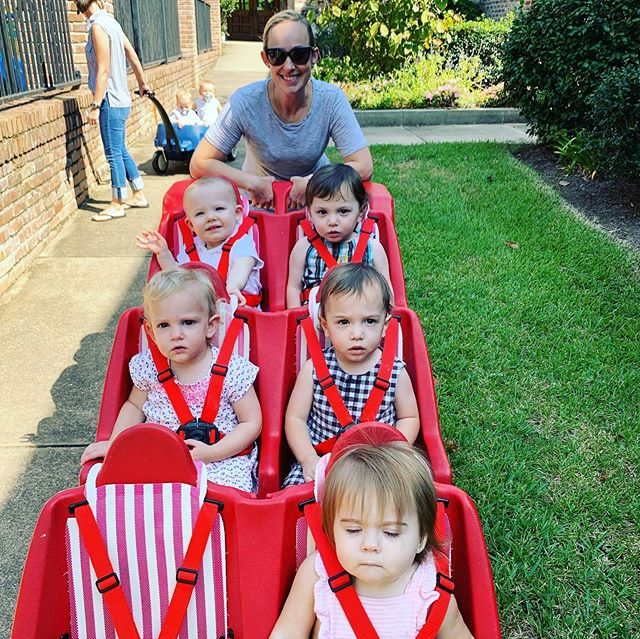 The toddlers took a nice morning stroll on this toasty Tuesday!