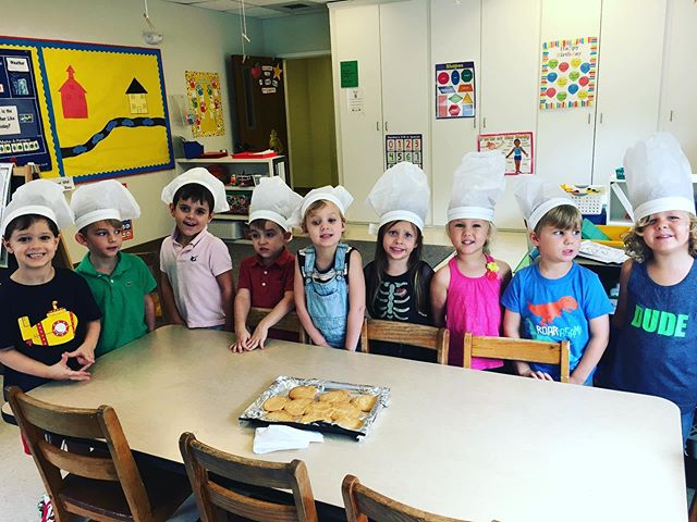 A Pastor, policeman, and baker OH MY! Our 3 and 4 year olds have had these visitors (and many more) during their community helpers unit.