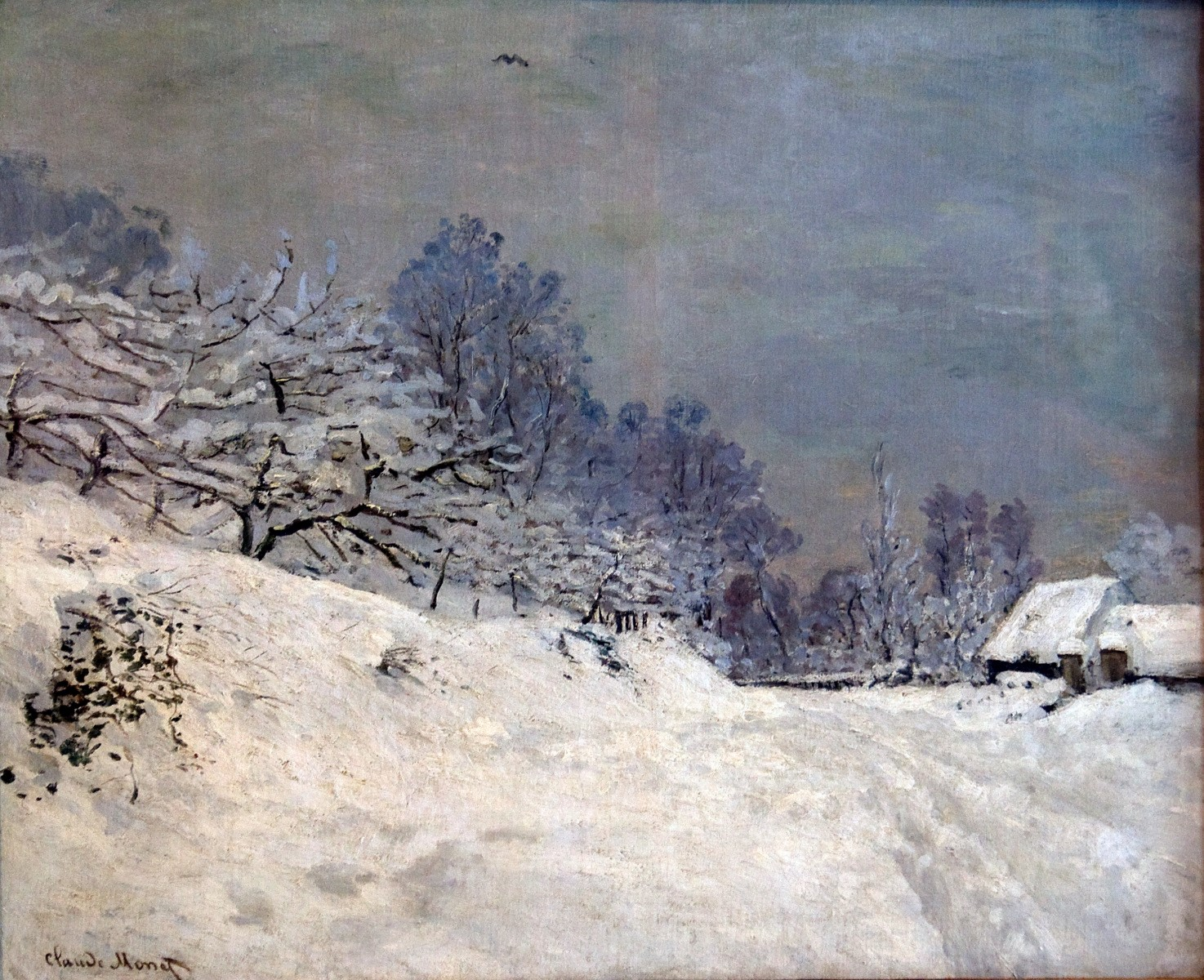 Monet The Road in Front of Saint-Simeon Farm in Winter - Copy.jpg