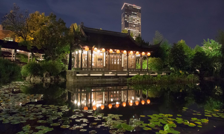 [Photo: Courtesy of Lan Su Chinese Garden.]