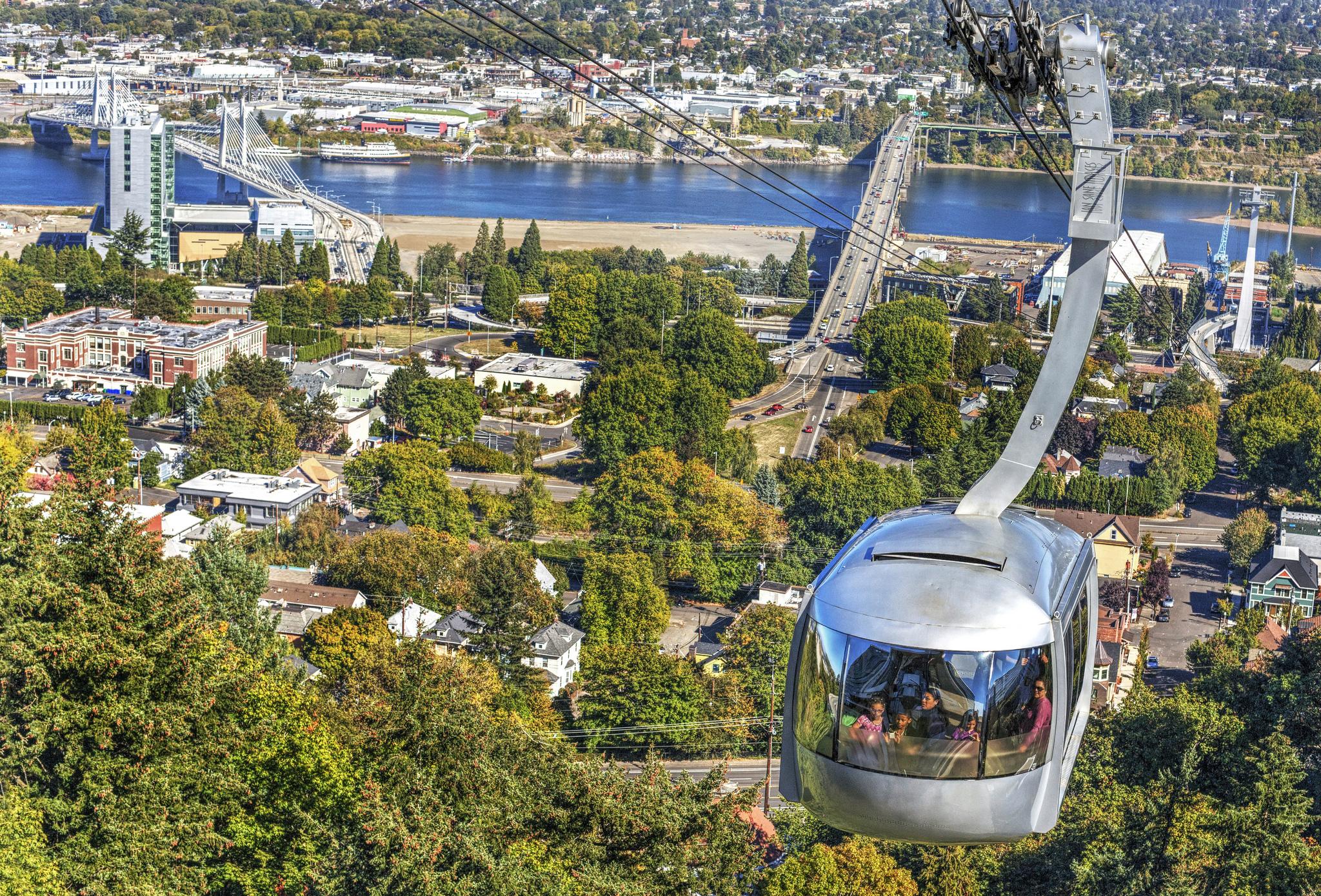 [Photo: Portland Aerial Tram. Credit:  Ian Sane .]