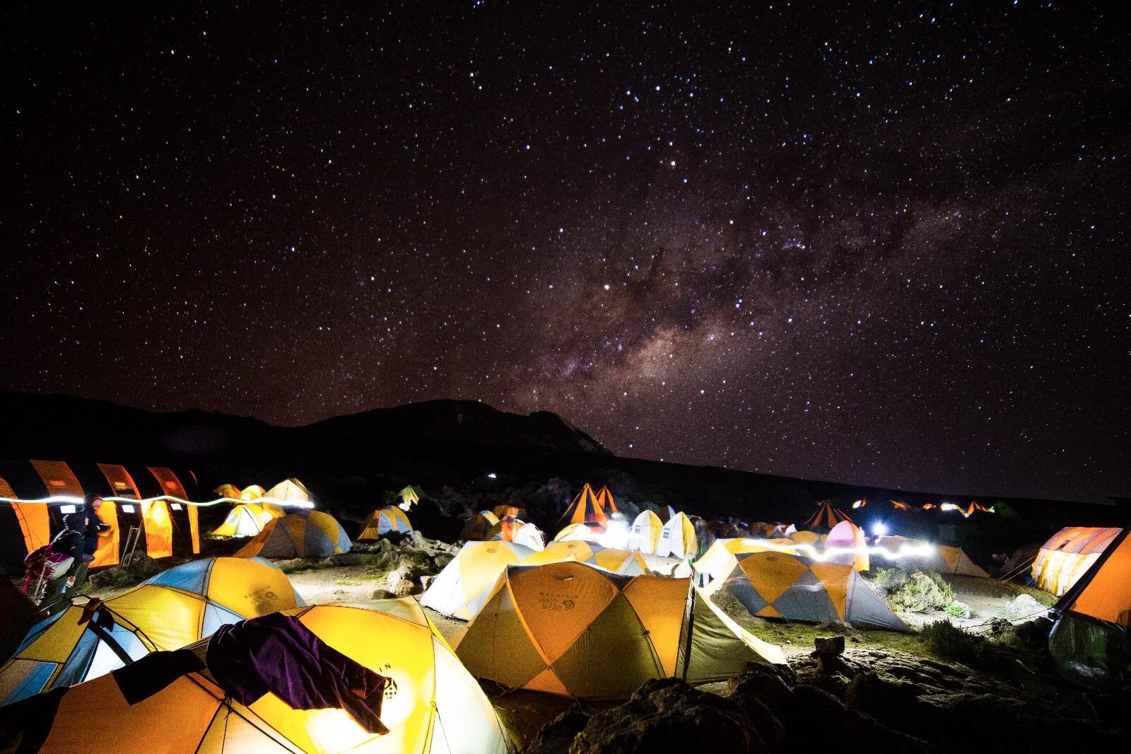 Kilimanjaro Night Sky