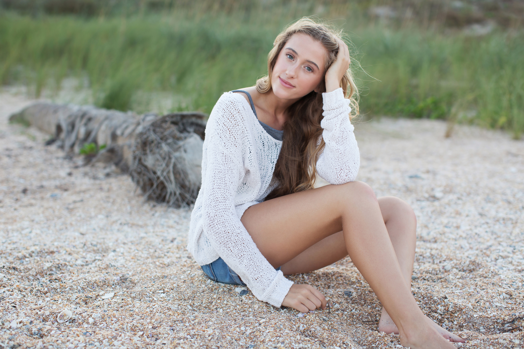 ponte vedra beach senior photos