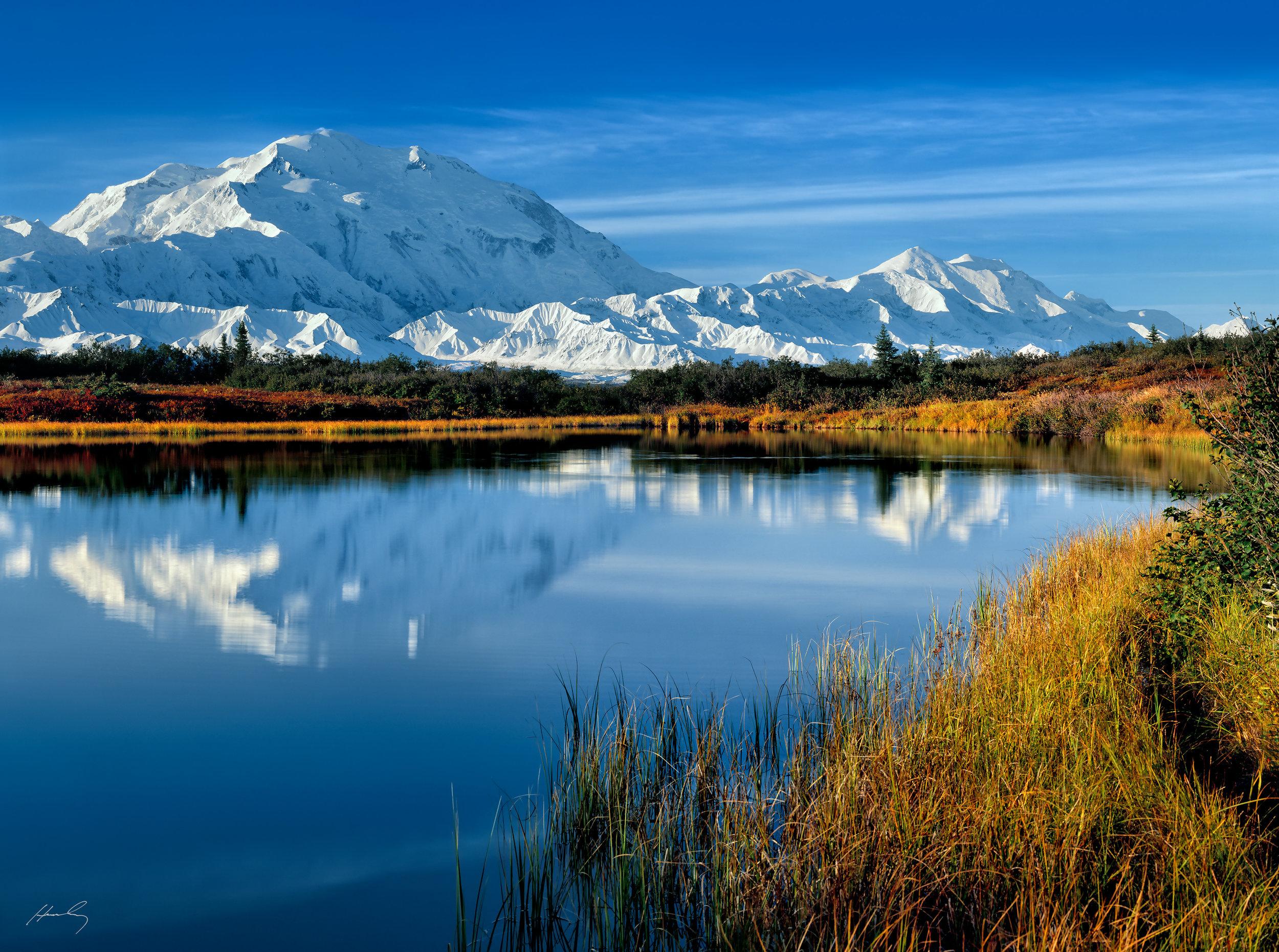 """""""Denali At Reflection Pond"""" Denali N.P., Alaska"""