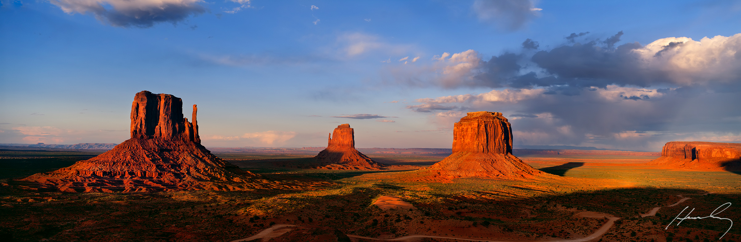 """""""Chasing The Storm"""" Monument Valley, Arizona"""