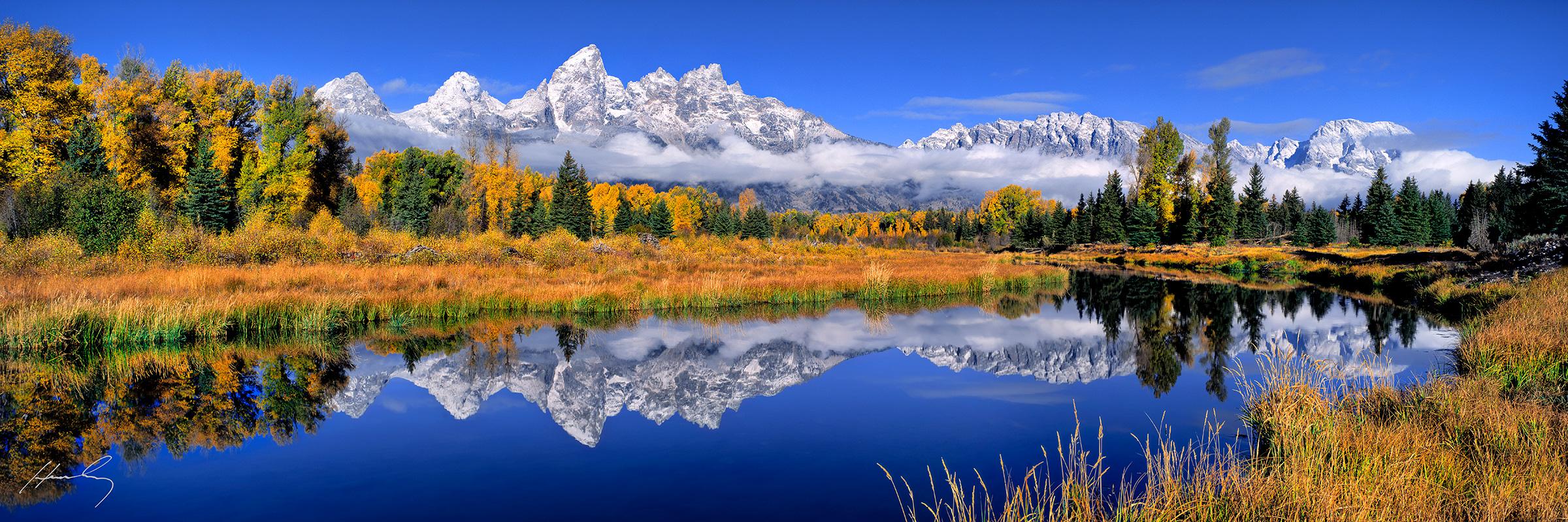 """""""Schwabachers Landing"""" Grand Teton N.P., Wyoming"""