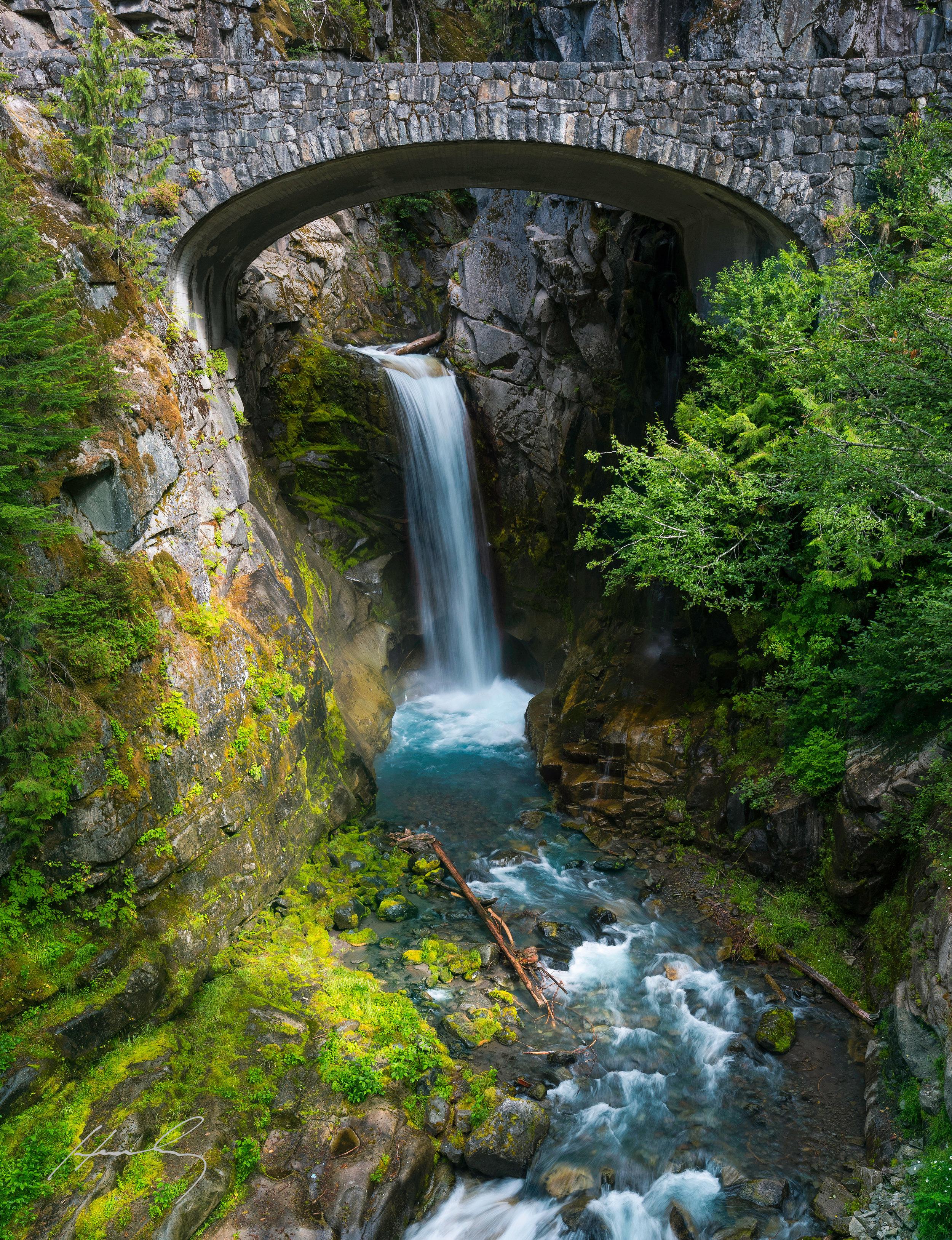 """""""Christine Falls"""" Mt Rainier N.P., Washington"""