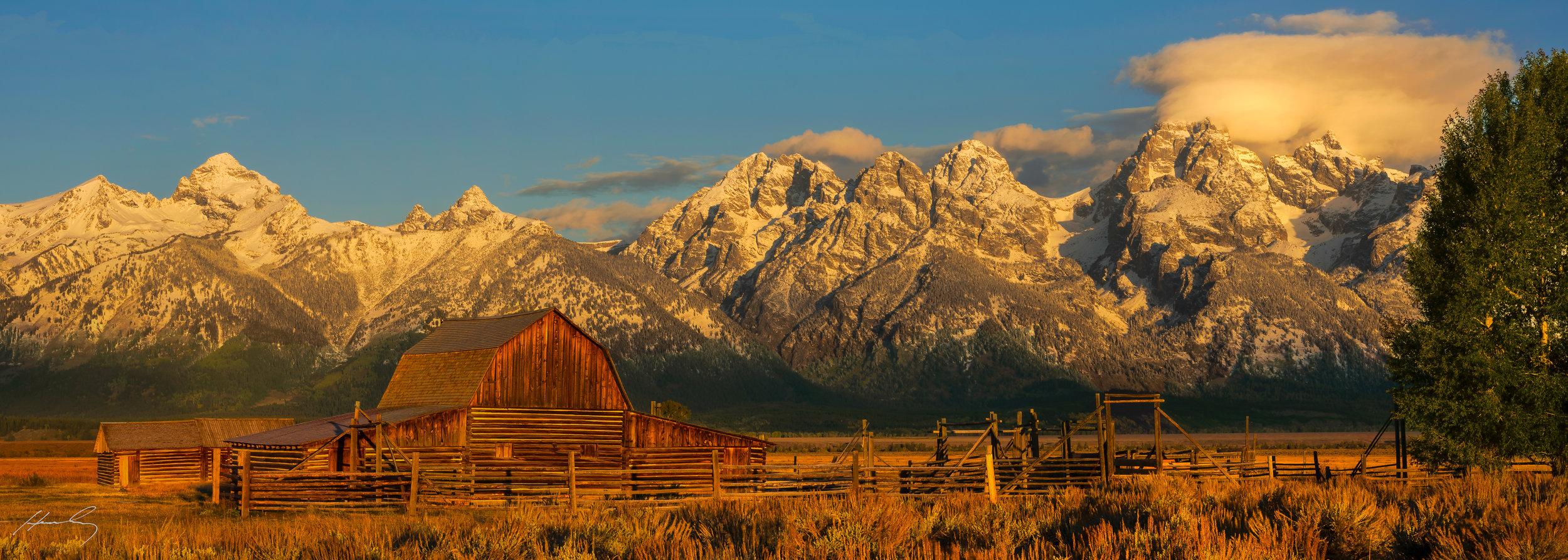 """""""Mormon Row"""" Grand Teton N.P., Wyoming"""