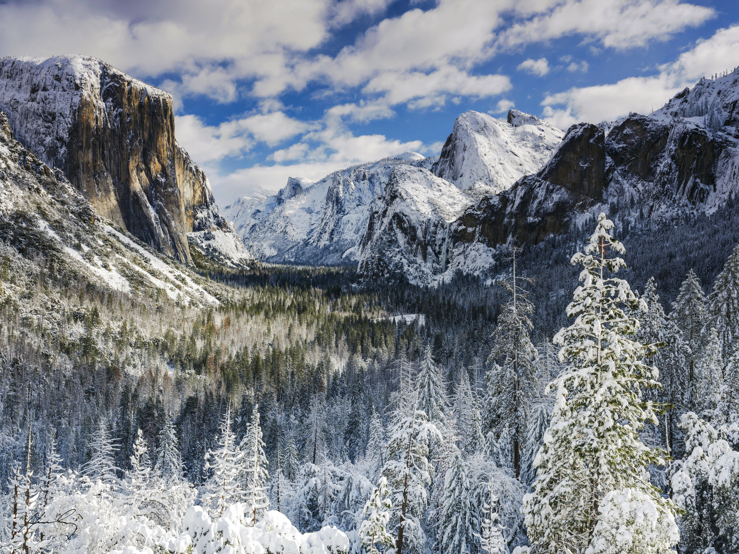 """Tunnel View""  Yosemite N.P, California"