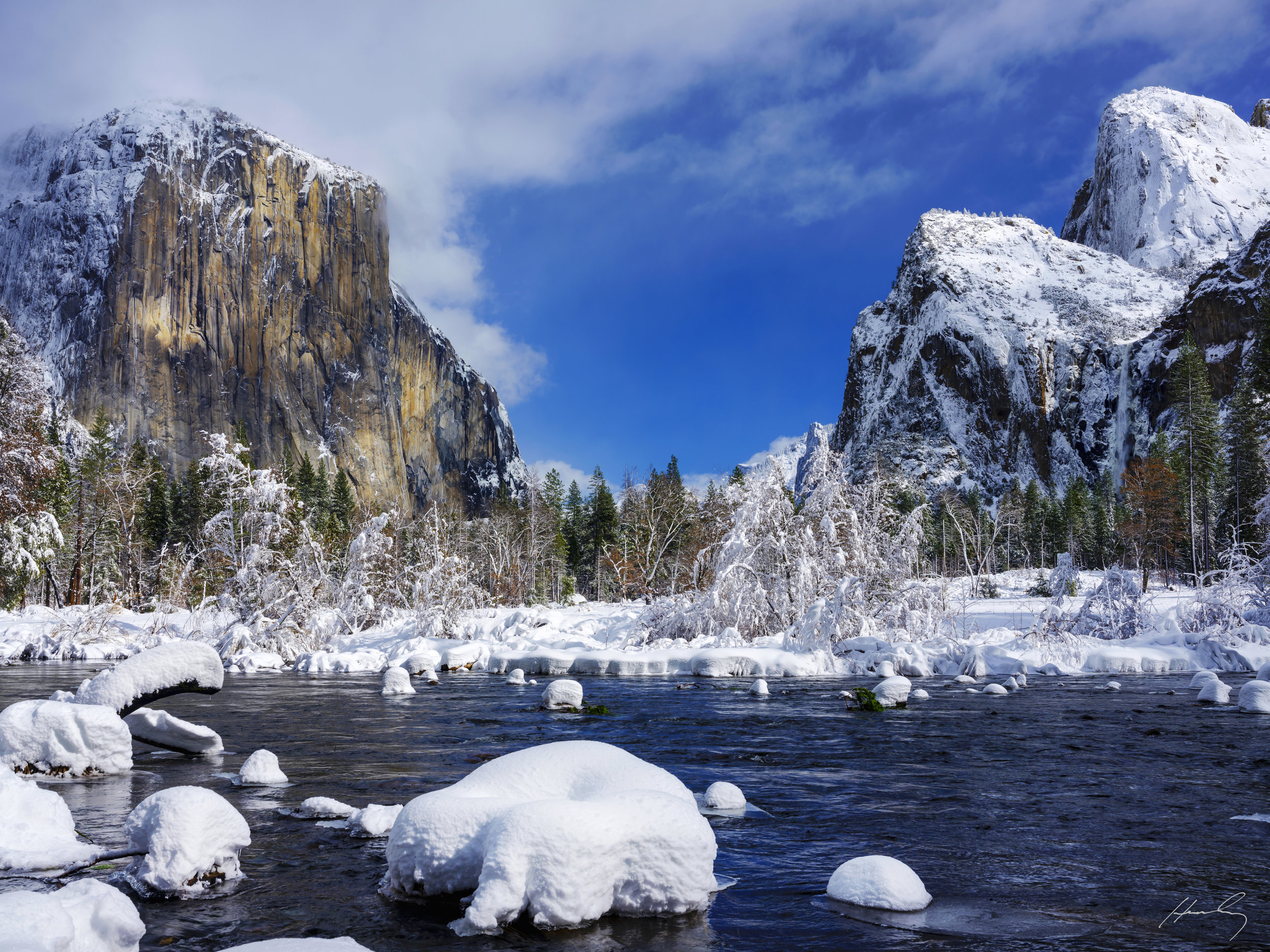 """Valley View"" Yosemite N.P., California"