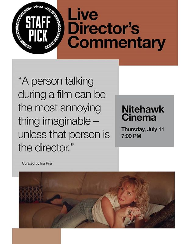 """NYC FRIENDS!! Come and check out this stellar lineup of films playing at the @nitehawkcinema for the 4th Vimeo Staff Pick Live Director's Commentary! I'll be there talking about """"Opening Night"""" alongside some of my favorite filmmakers (you can check the lineup in the link in my bio). The screening starts at 7:00 PM on Thursday, July 11th. Thank you so much @pira.ina for the invitation, and @vimeo for the love.  #vimeo #staffpicks #shortfilm #film #animation"""
