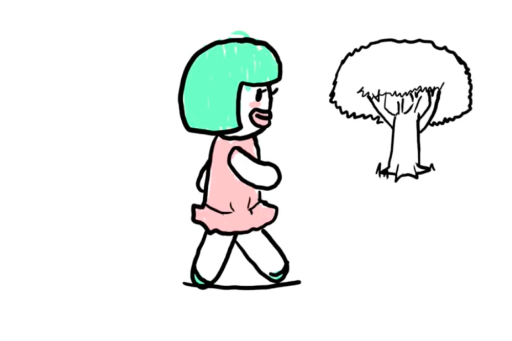 """Spring Girl"" , ASoF animation student, Felix Lenz (2016)"