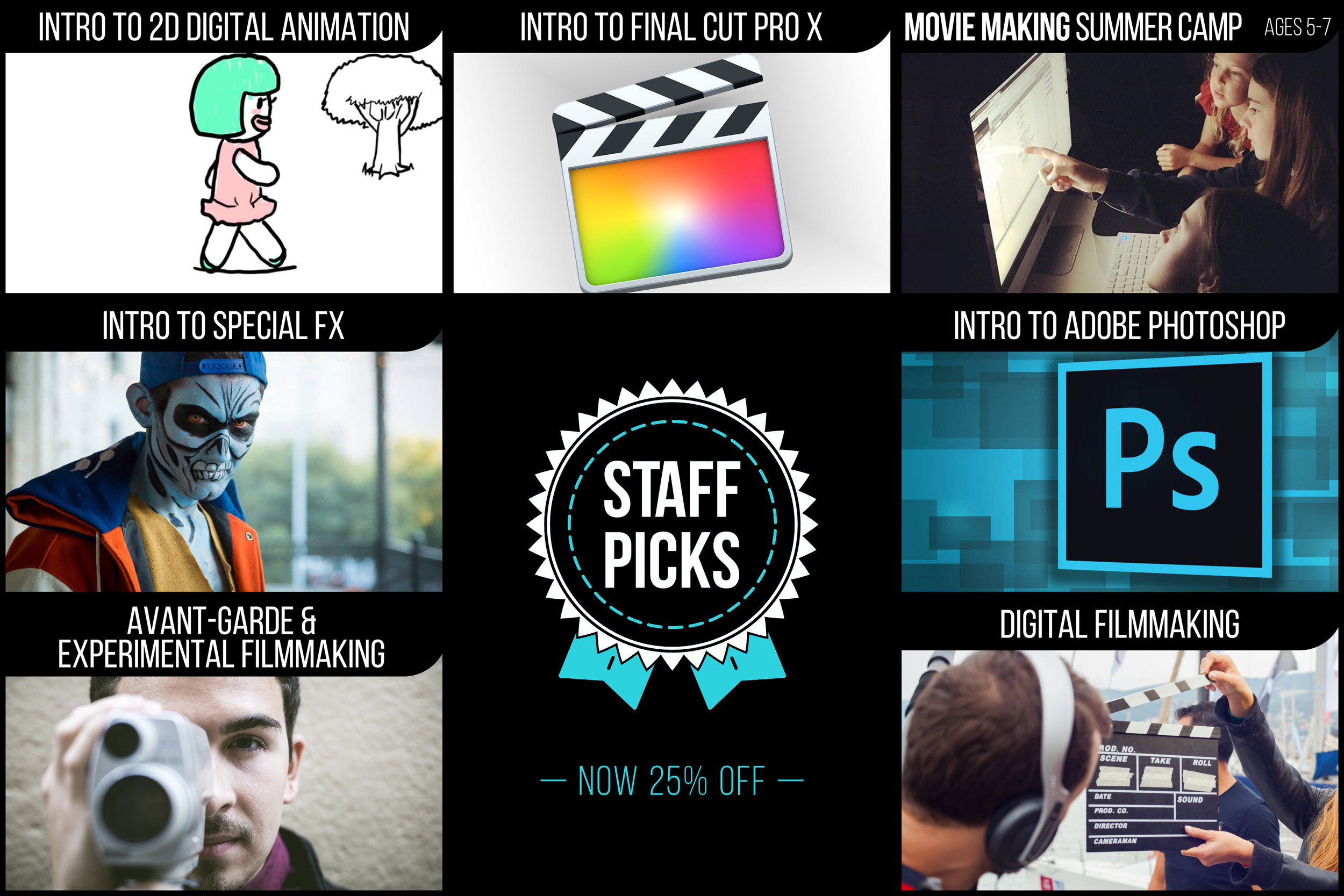 STAFF PICKS: NOW 25% OFF