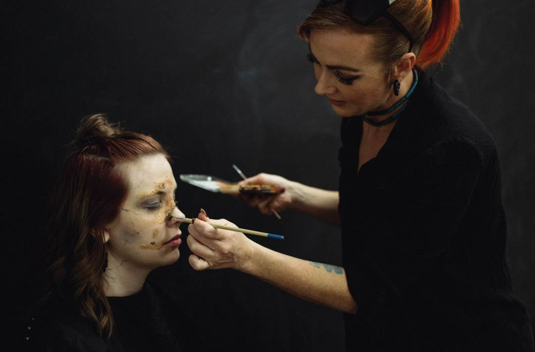 Behind the scenes with instructor Jennifer Cunningham, Intro to SFX