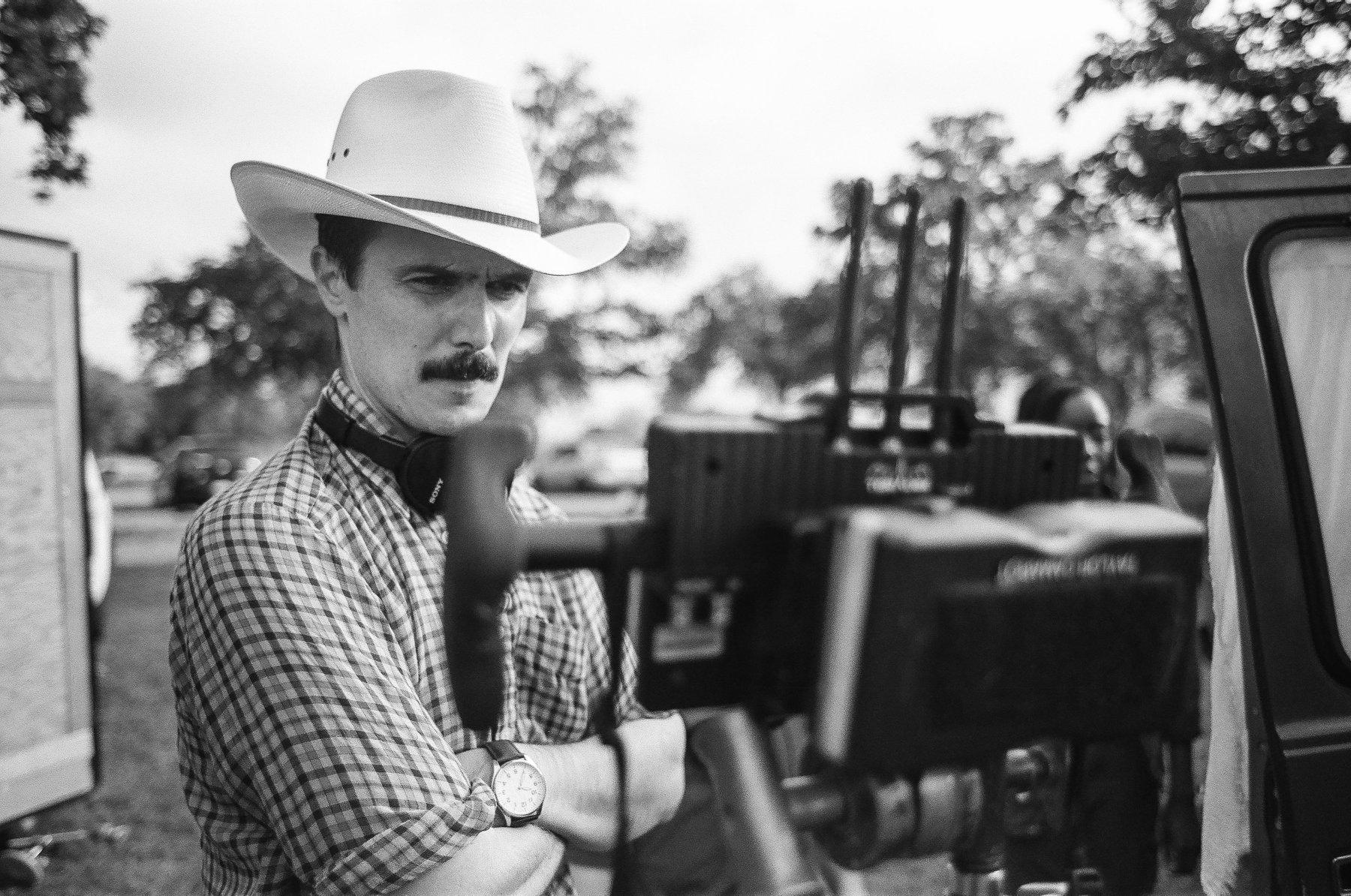 John Valley on set, c/o johnvalleyworks.com
