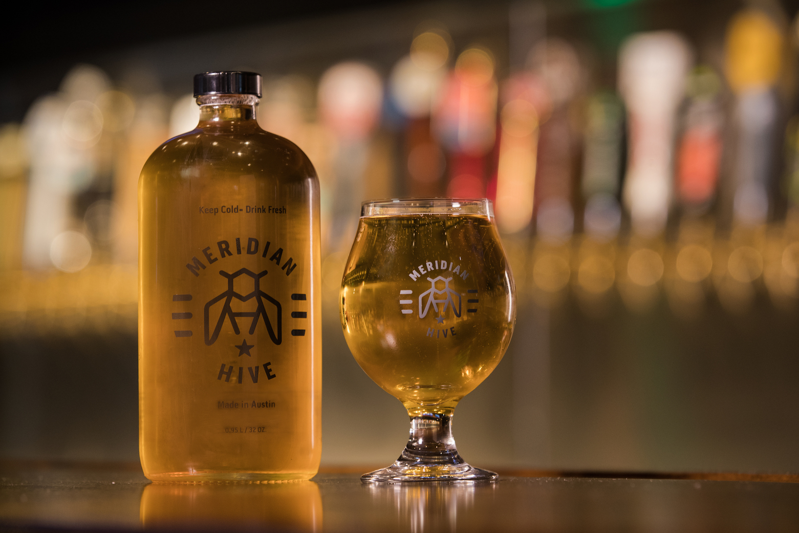 MERIDIAN HIVE - Complimentary local and ethical drinks by Meridian Hive!