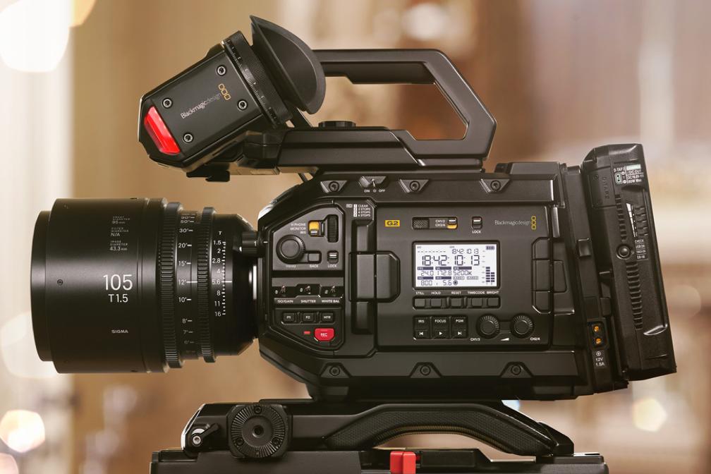 Intro to Cinema Cameras: Blackmagic & RED - 12 hours