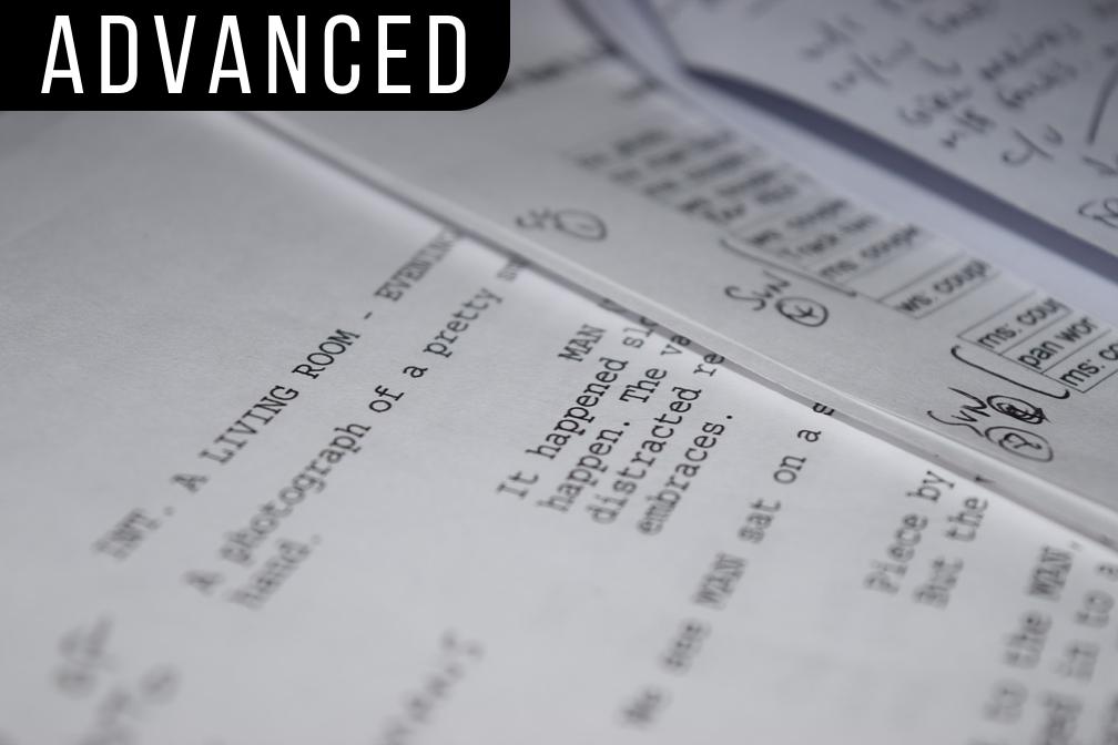 Screenwriting II: The Feature - 30 hours