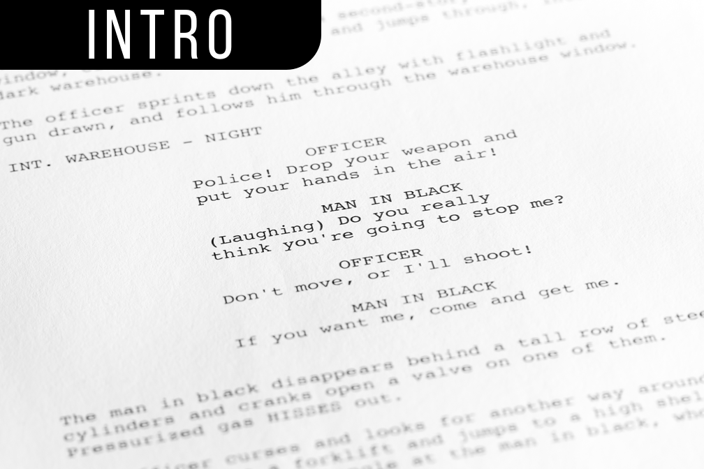 Intro to Screenwriting for Films - 24 hours